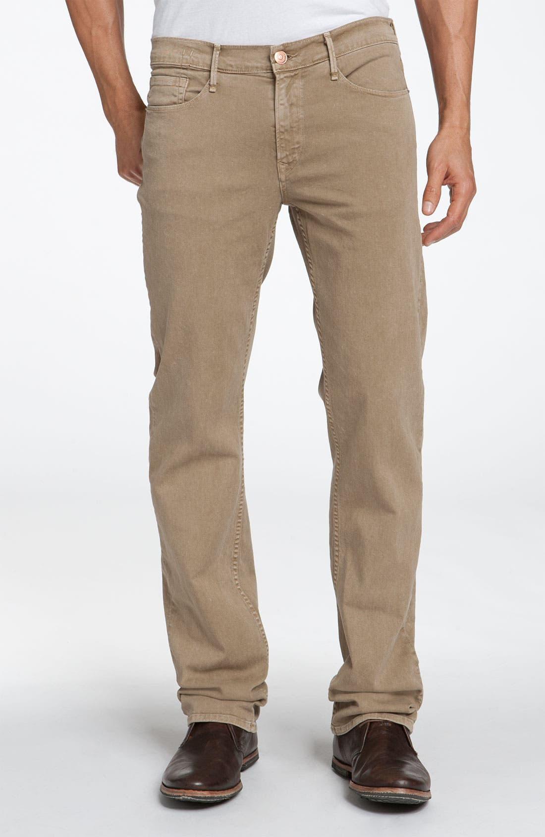 Main Image - Earnest Sewn 'Fulton' Straight Leg Twill Pants