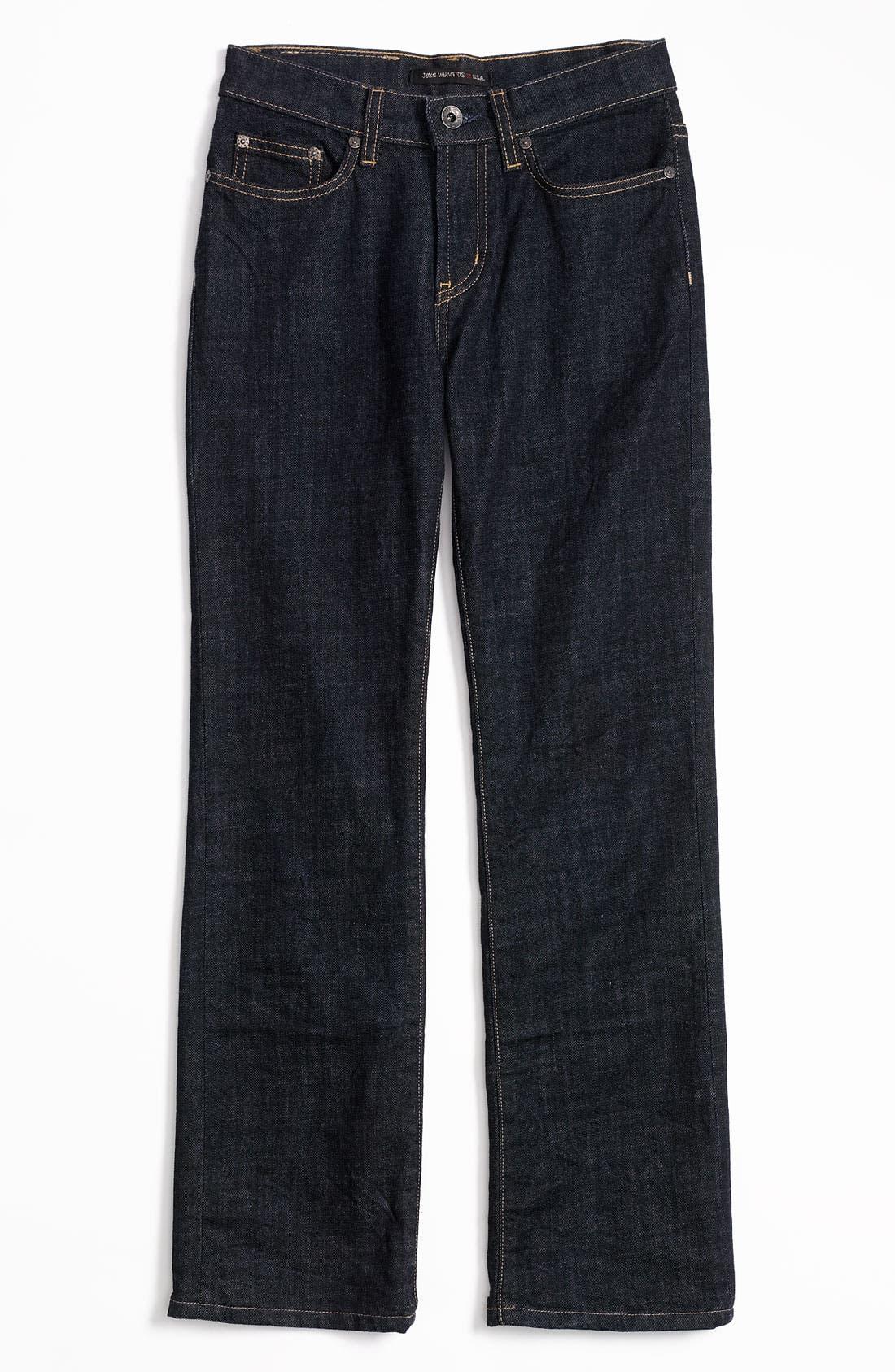 Alternate Image 2  - John Varvatos Star USA Straight Leg Jeans (Big Boys)