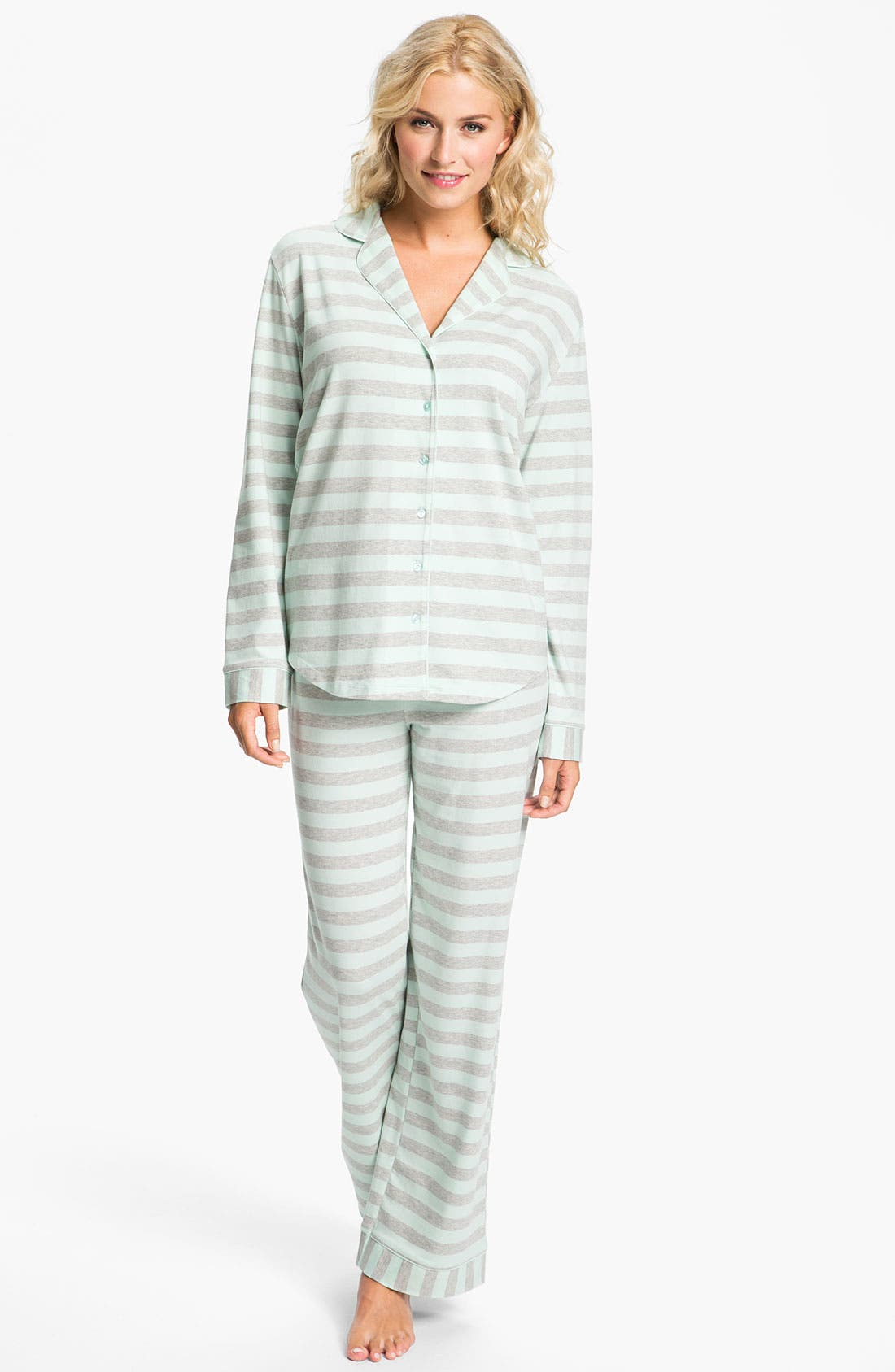 Alternate Image 1 Selected - Nordstrom Knit Pajamas