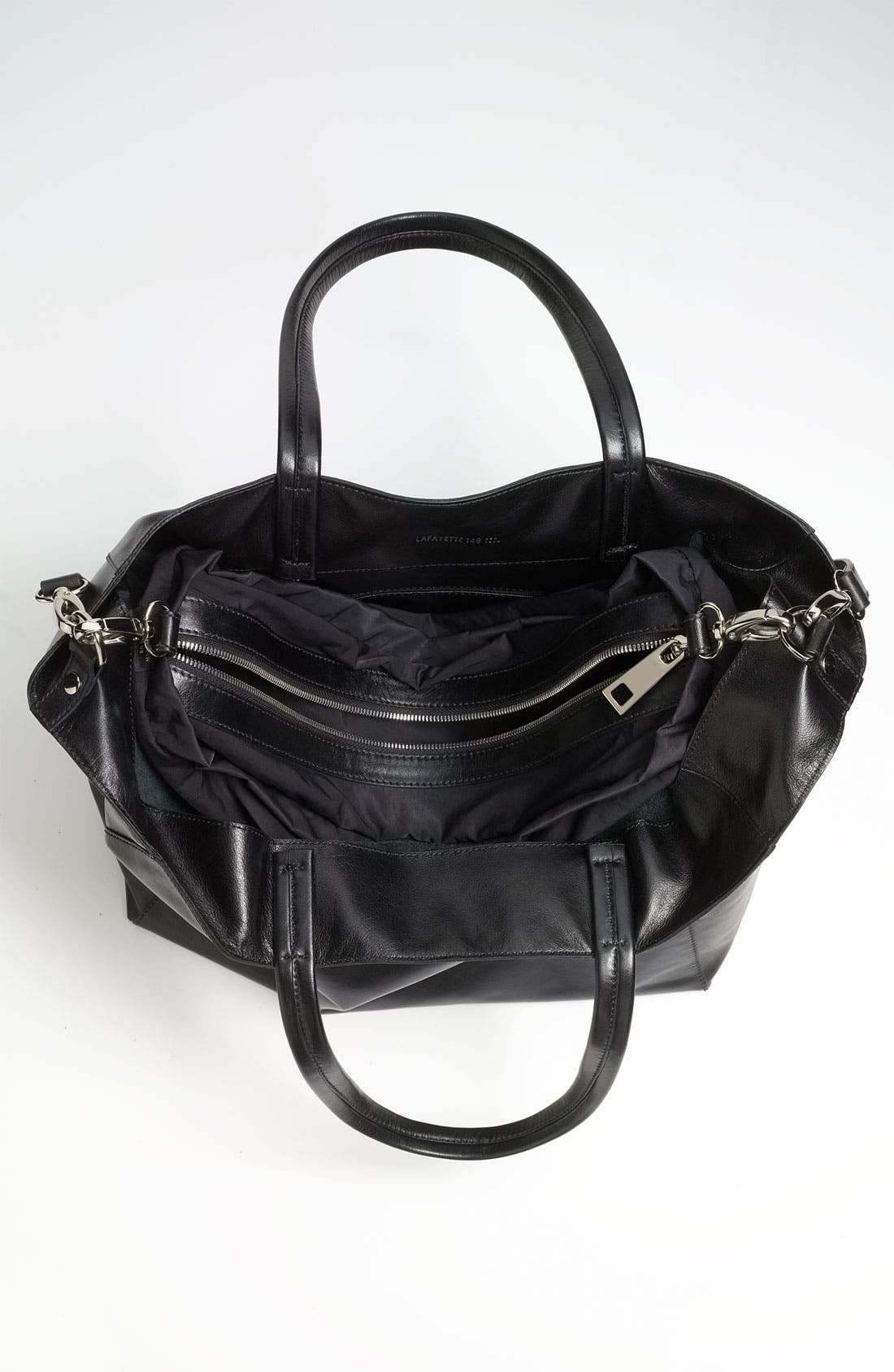 Alternate Image 3  - Lafayette 148 New York 'Anna' Leather Tote