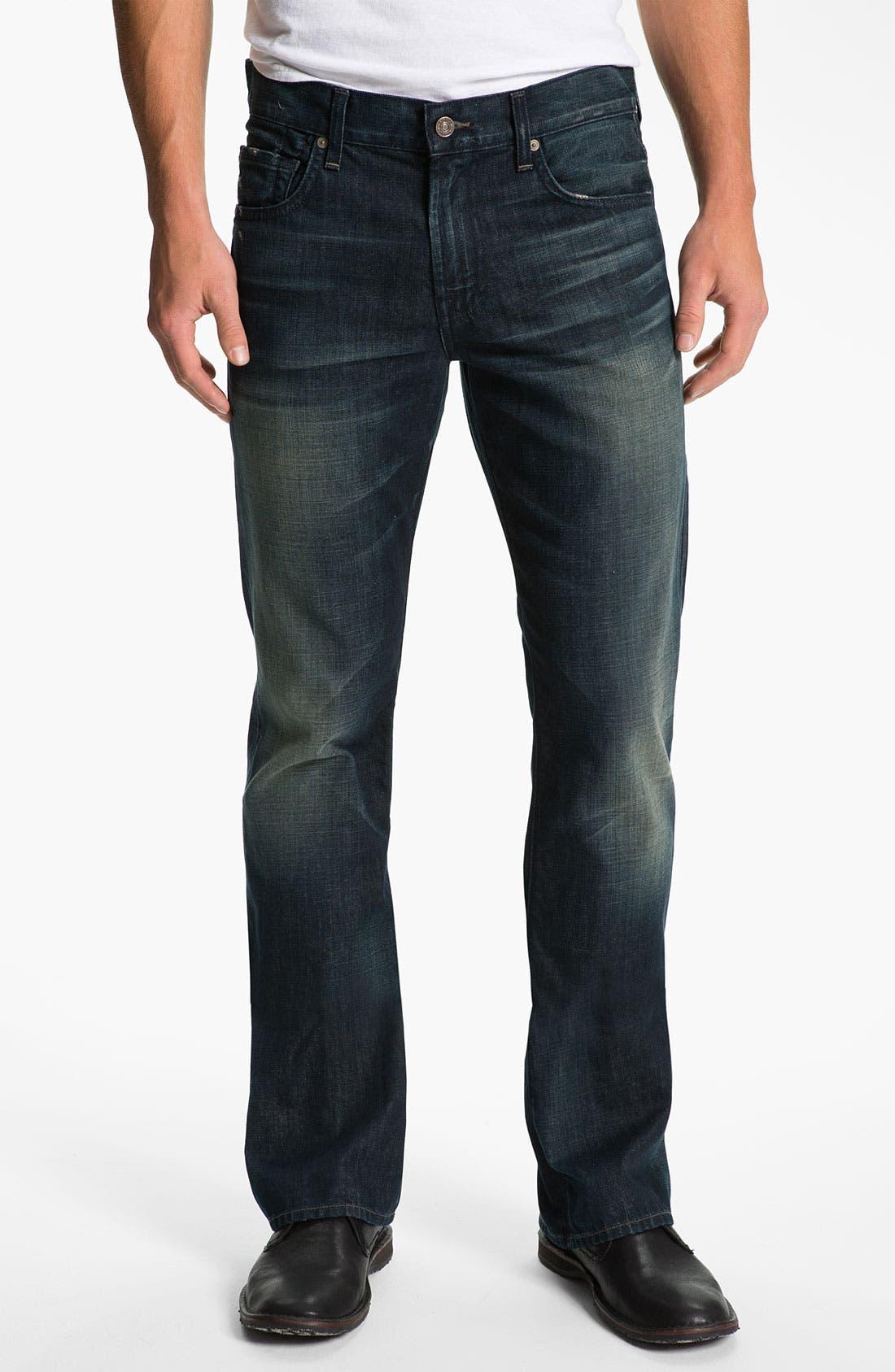 Alternate Image 2  - 7 For All Mankind® 'Brett' Bootcut Jeans (Cedar Street)