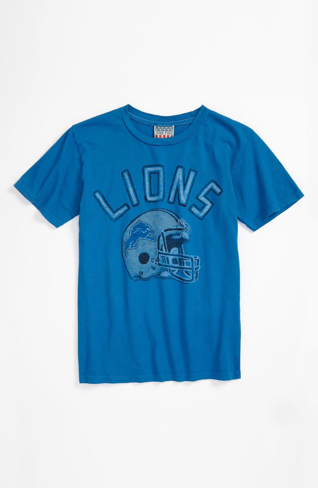Main Image - Junk Food 'Detroit Lions' T-Shirt (Little Boys & Big Boys)