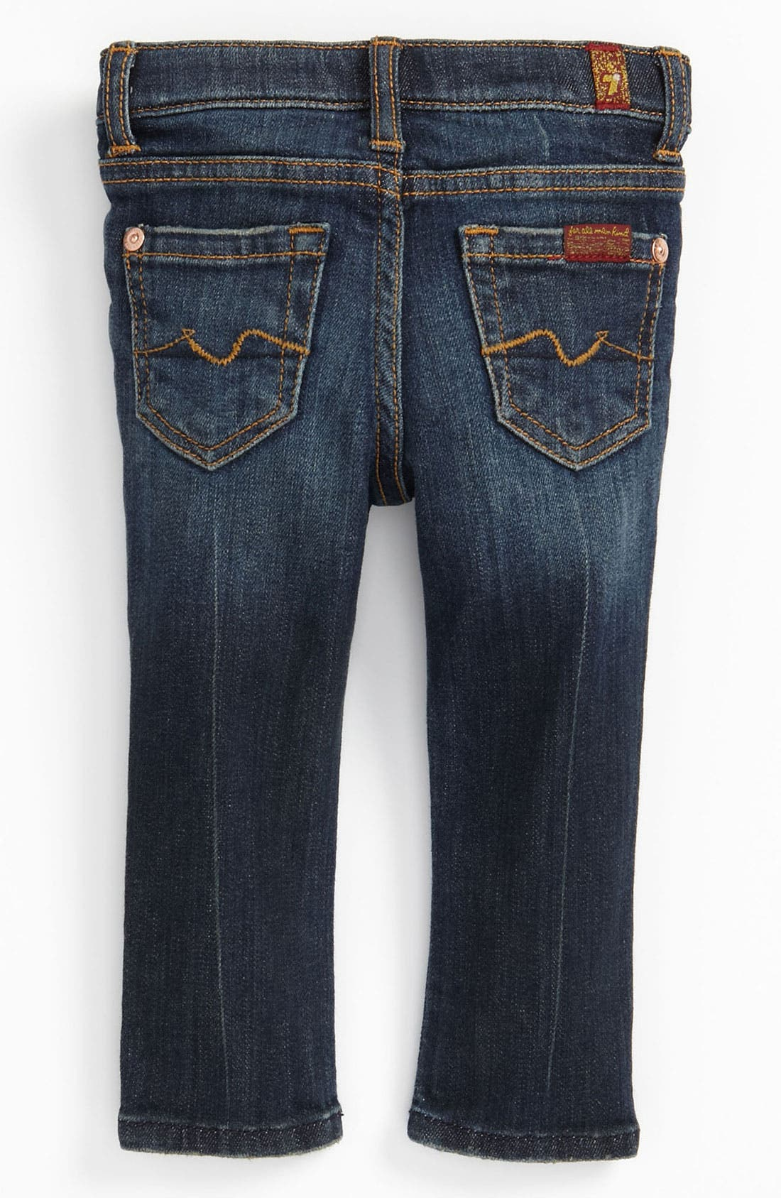 Main Image - 7 For All Mankind® 'Roxanne' Skinny Jeans (Infant)