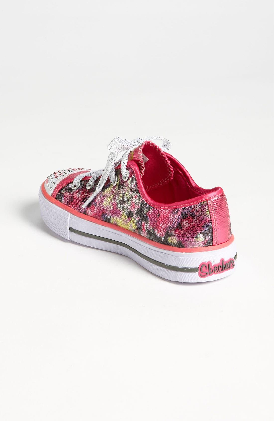Alternate Image 2  - SKECHERS 'Shuffle Ups' Light-Up Sneaker (Toddler & Little Kid)