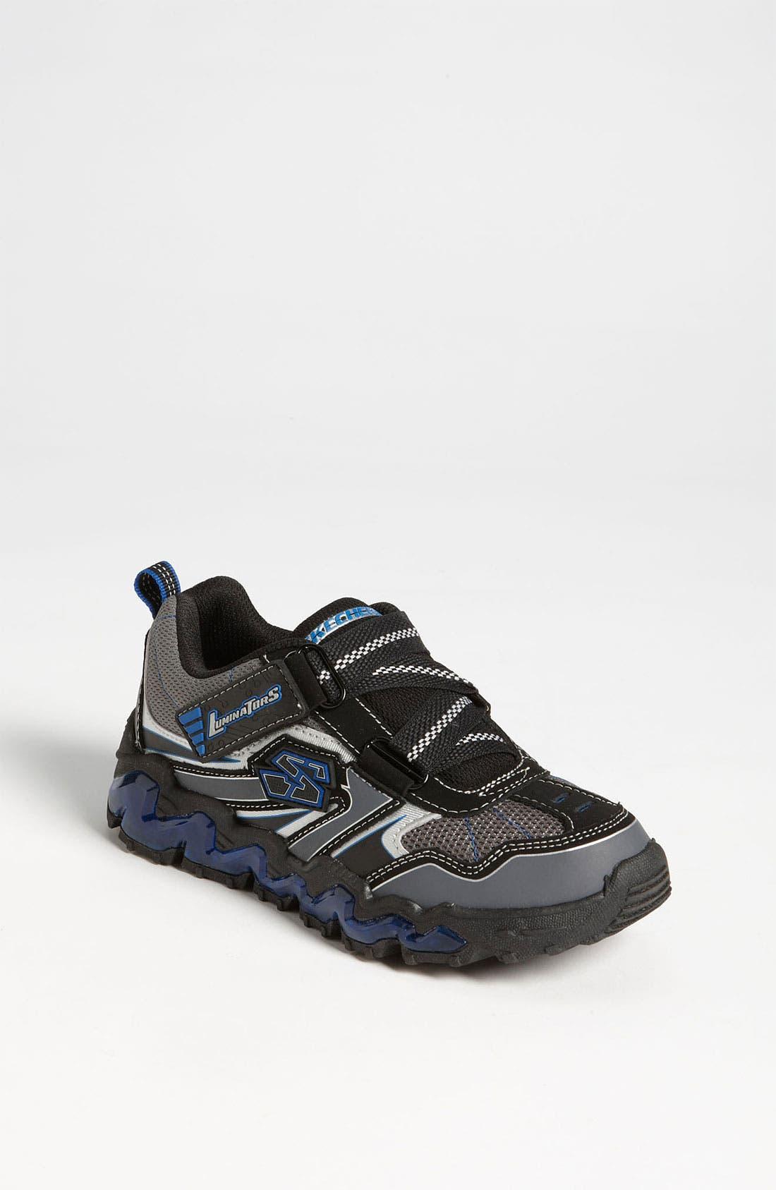 Alternate Image 1 Selected - SKECHERS 'Nova Wave' Light-Up Sneaker (Toddler & Little Kid)