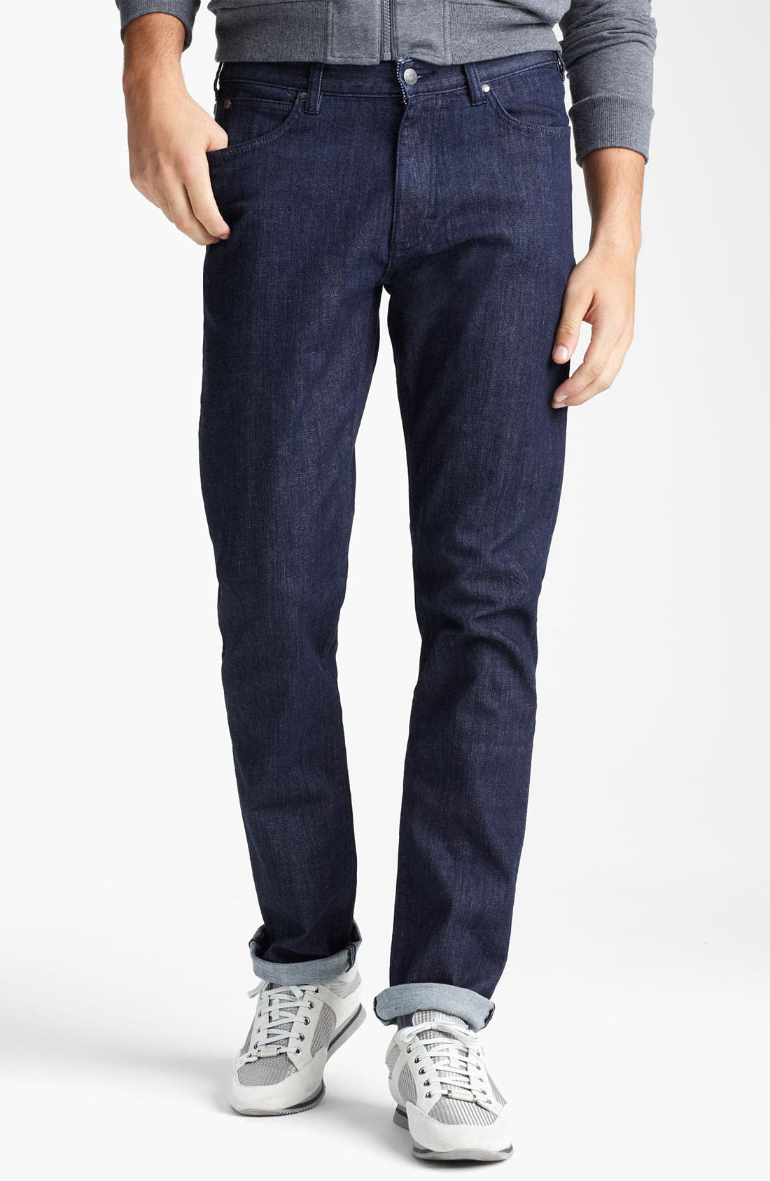 Alternate Image 1 Selected - Zegna Sport Straight Leg Jeans