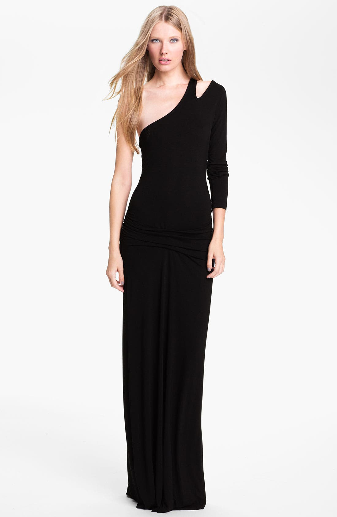 Main Image - Young, Fabulous & Broke 'Vinny' One Shoulder Maxi Dress