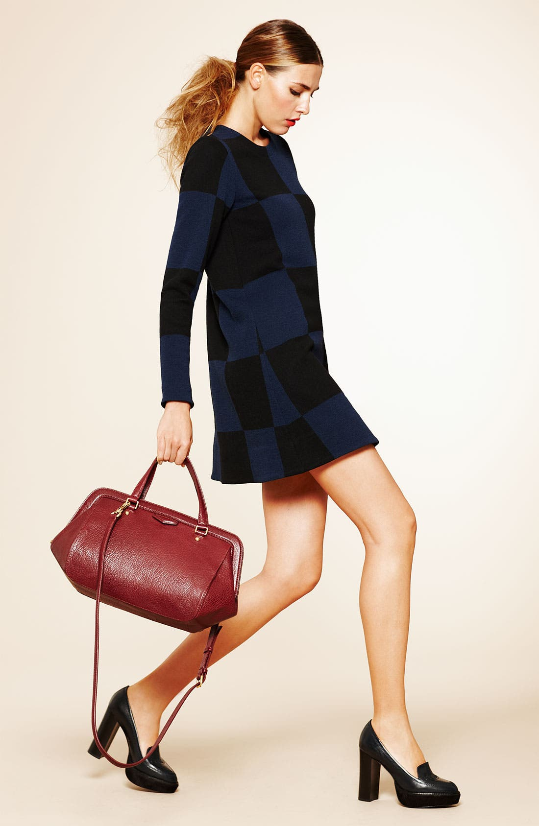 Alternate Image 4  - MARC BY MARC JACOBS Checkered Jacquard Mini Dress