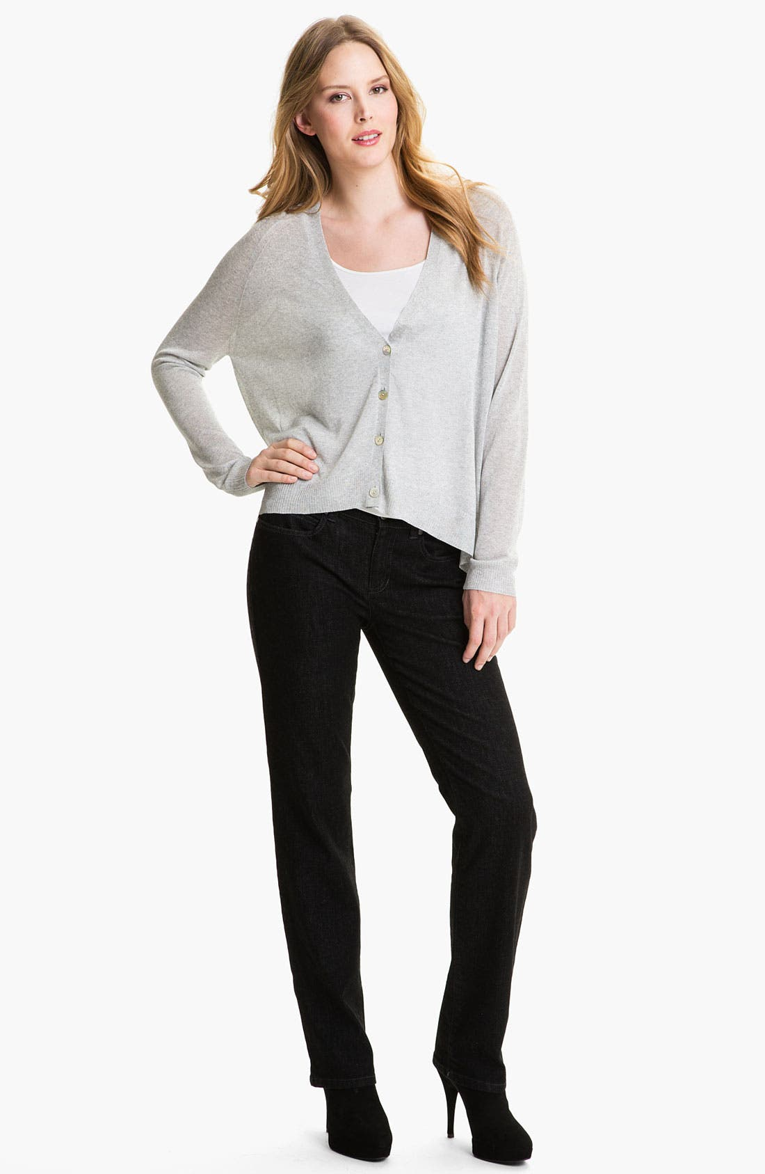 Alternate Image 2  - Eileen Fisher 'Liquid Shine' Cardigan