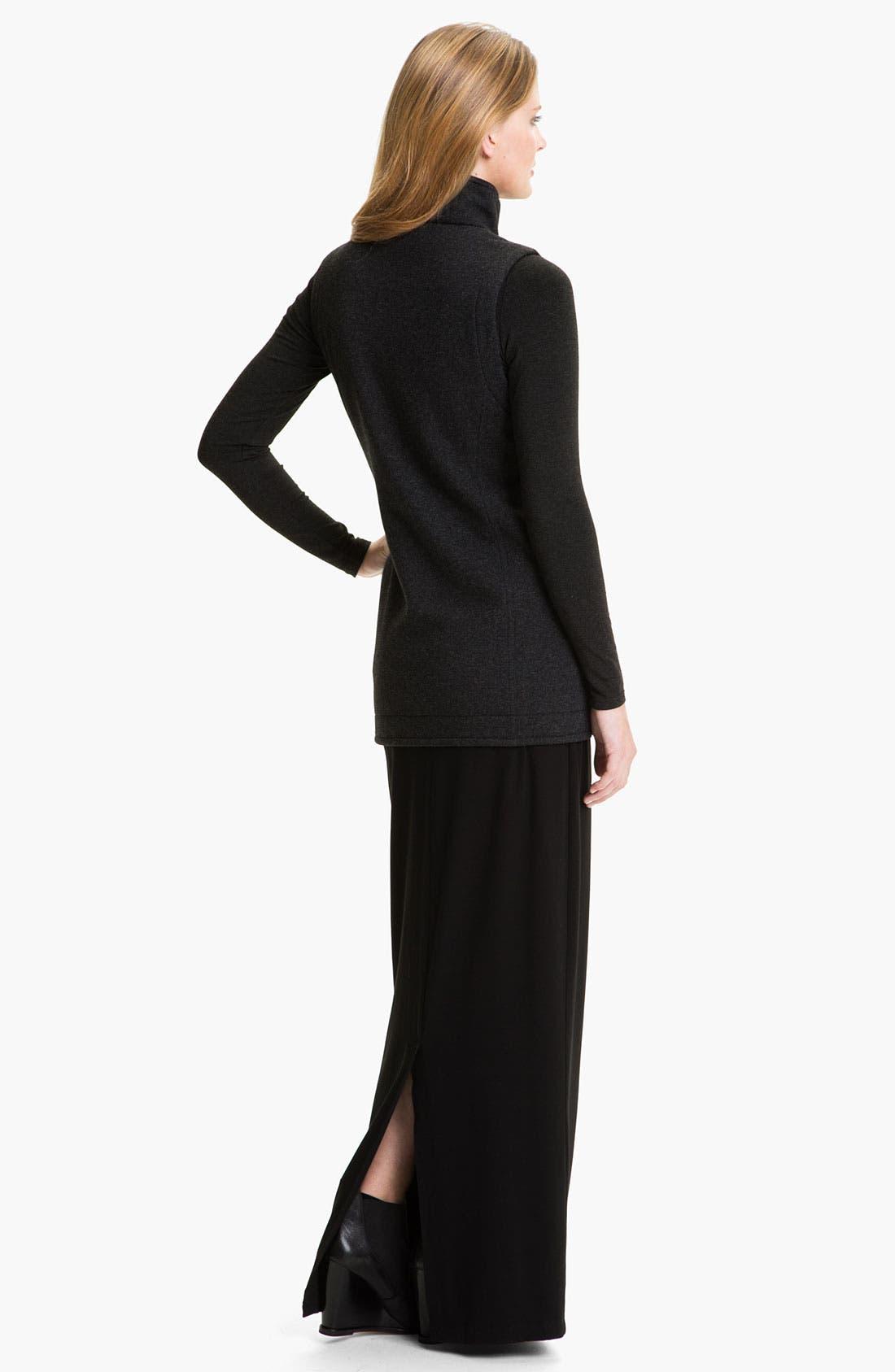 Alternate Image 5  - Eileen Fisher 'Fluffy Fleece' Long Vest