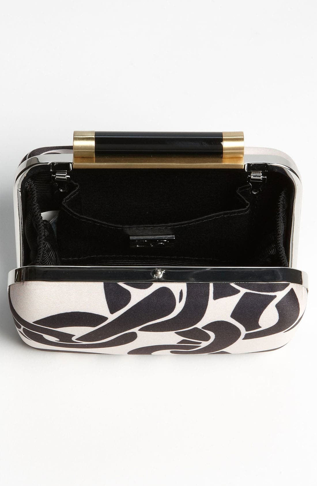 Alternate Image 3  - Diane von Furstenberg 'Tonda' Satin Clutch