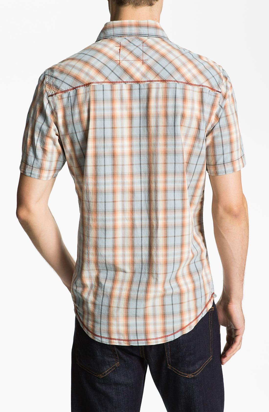 Alternate Image 2  - Jeremiah 'Levitt' Poplin Sport Shirt