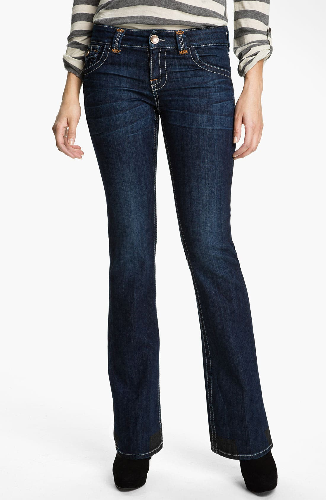 Main Image - KUT from the Kloth Heavy Stitch Bootcut Jeans
