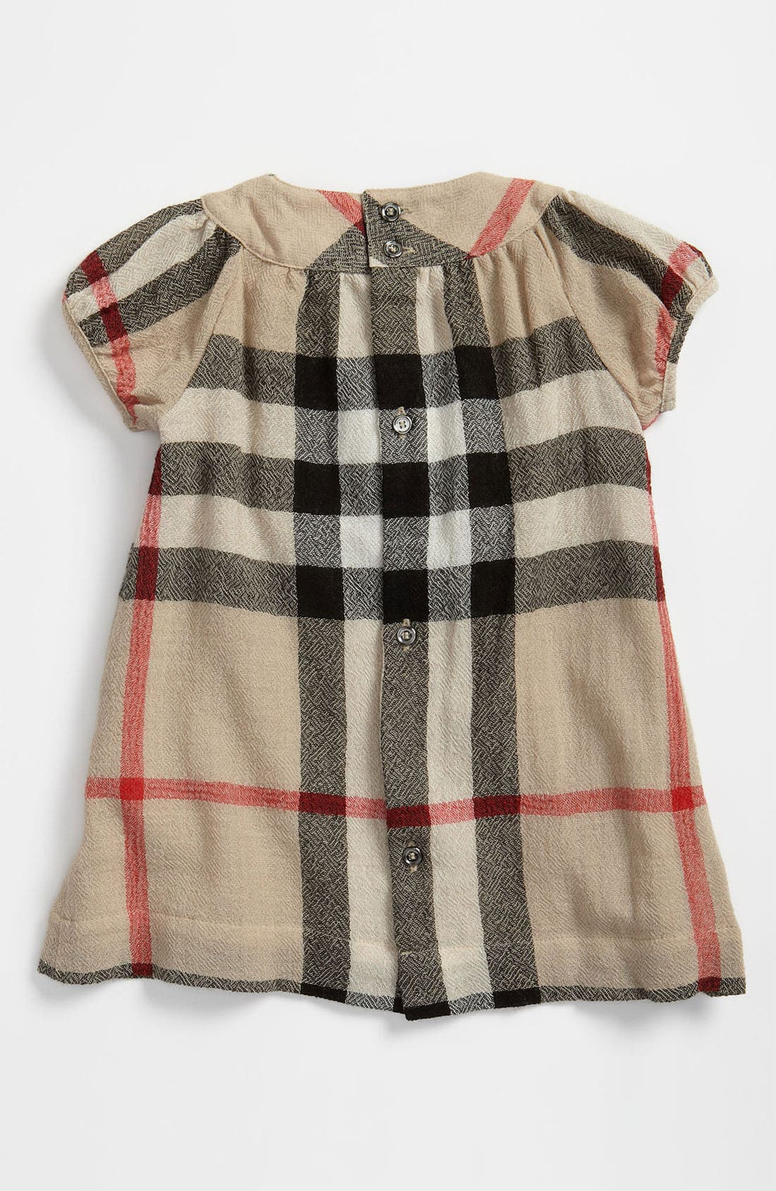 Alternate Image 2  - Burberry Check Print Dress (Infant)