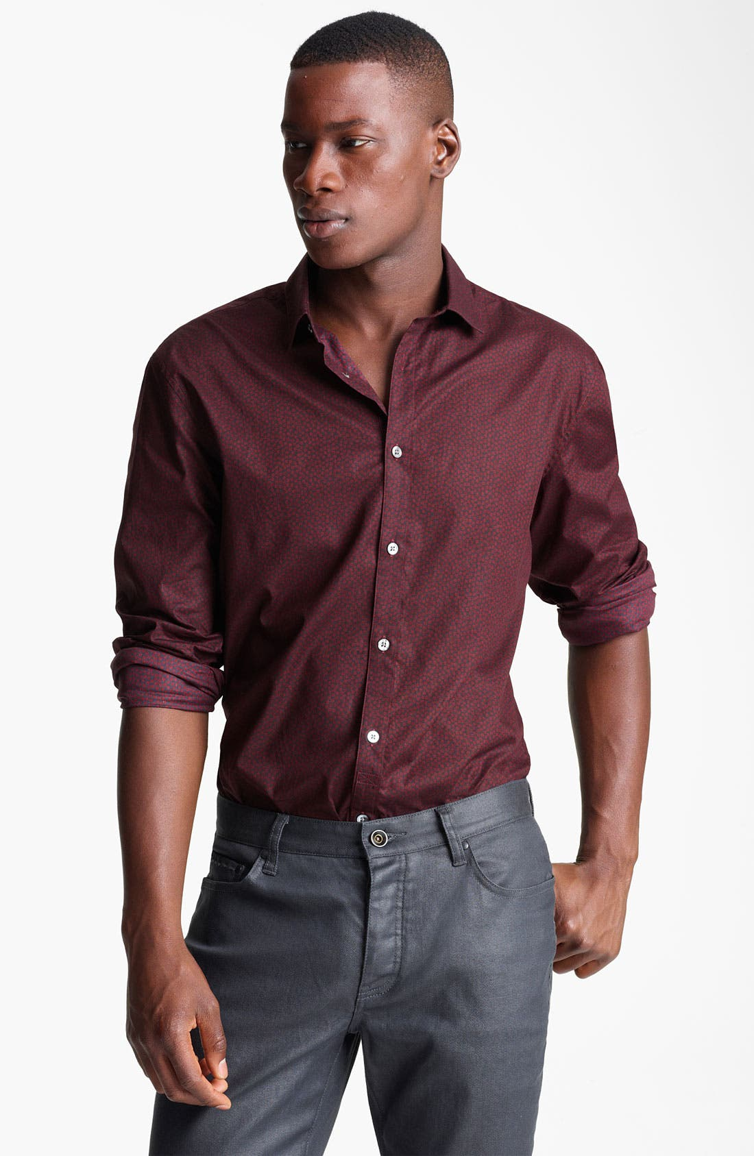 Alternate Image 1 Selected - John Varvatos Collection Slim Fit Sport Shirt