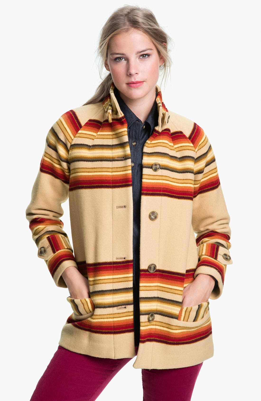 Alternate Image 1 Selected - Pendleton 'Toboggan' Coat (Online Exclusive)