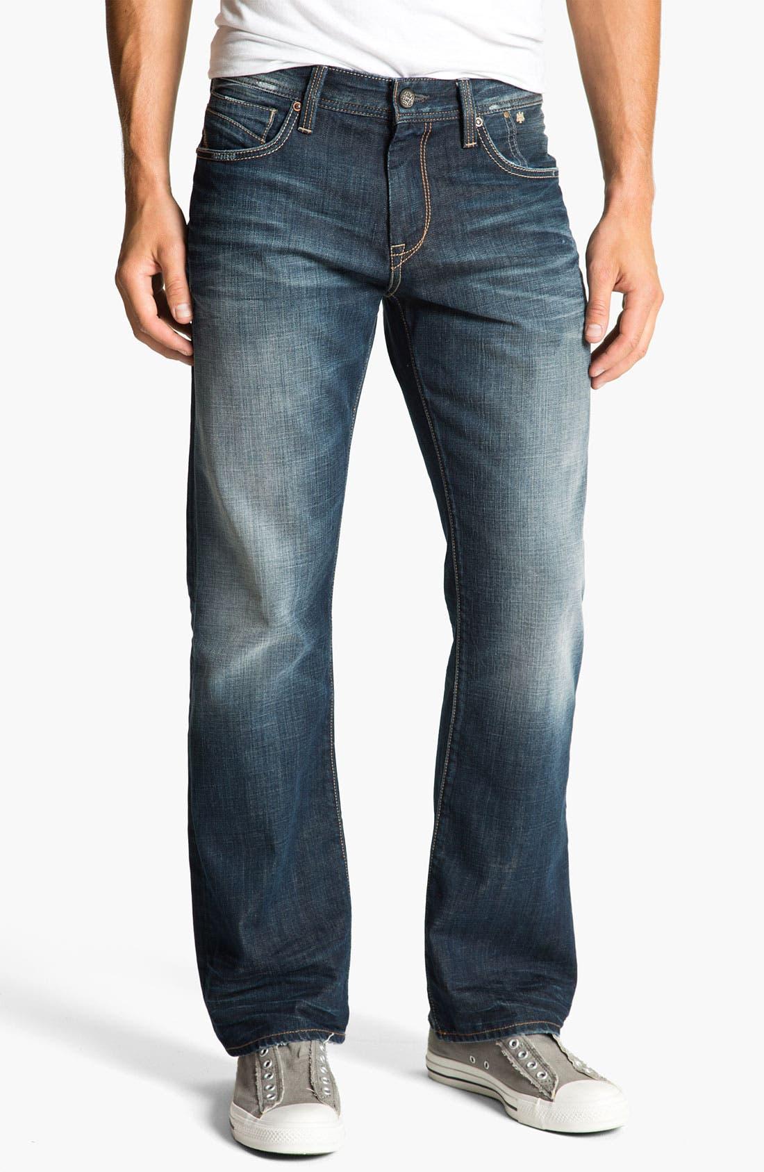Alternate Image 2  - Mavi Jeans 'Josh' Bootcut Jeans (Deep Indigo American Vintage)