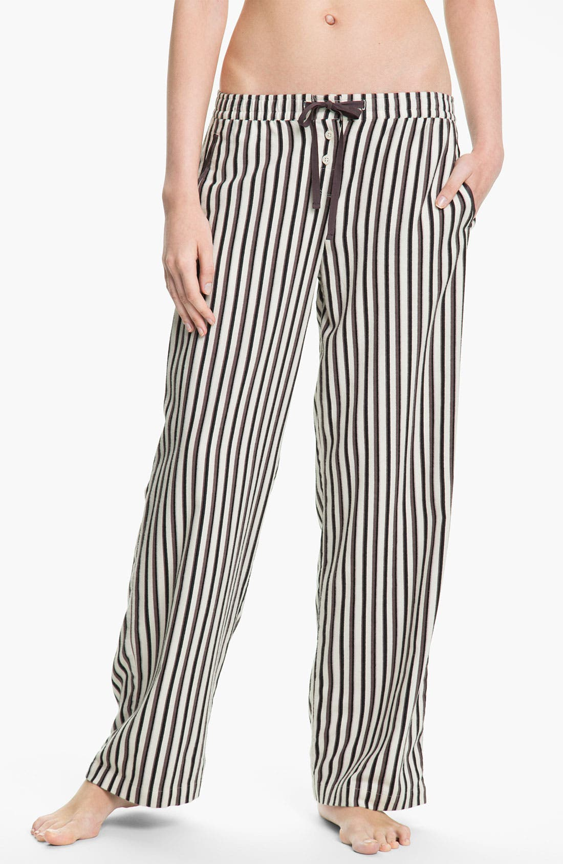 Alternate Image 1 Selected - DKNY 'Man's World' Flannel Pajama Pants