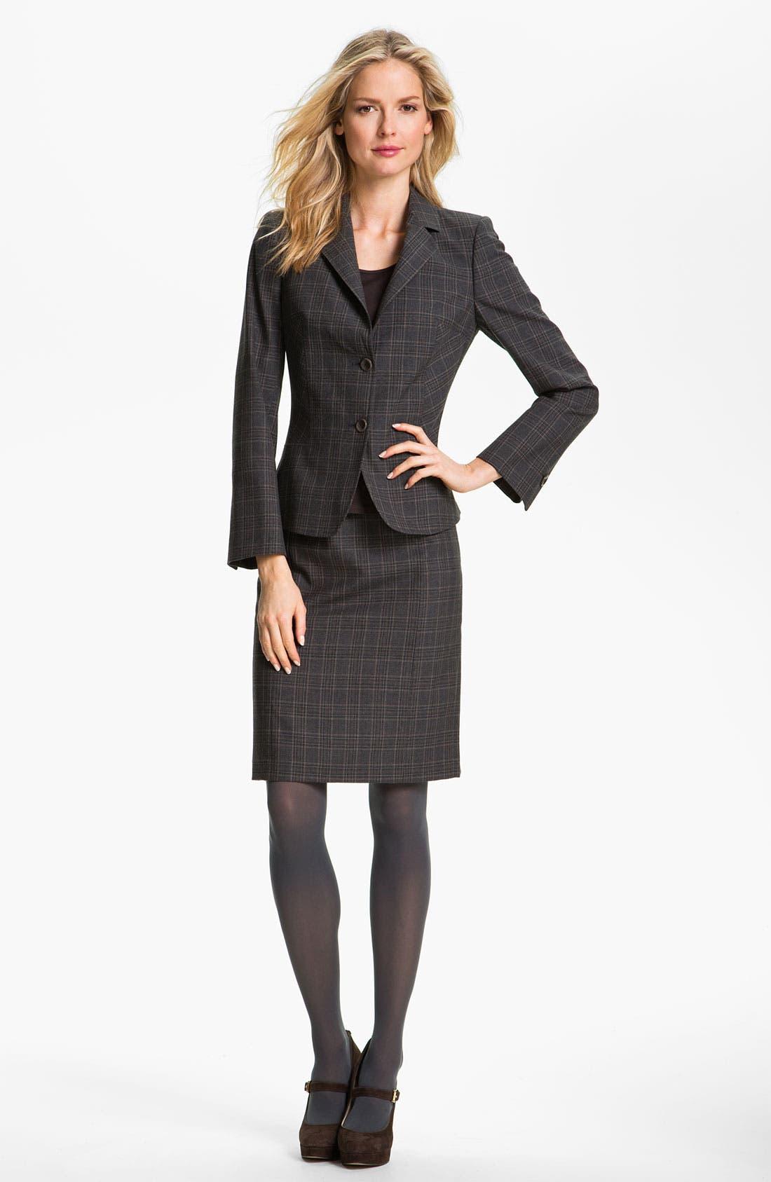 Alternate Image 5  - Santorelli 'Regina' Skirt