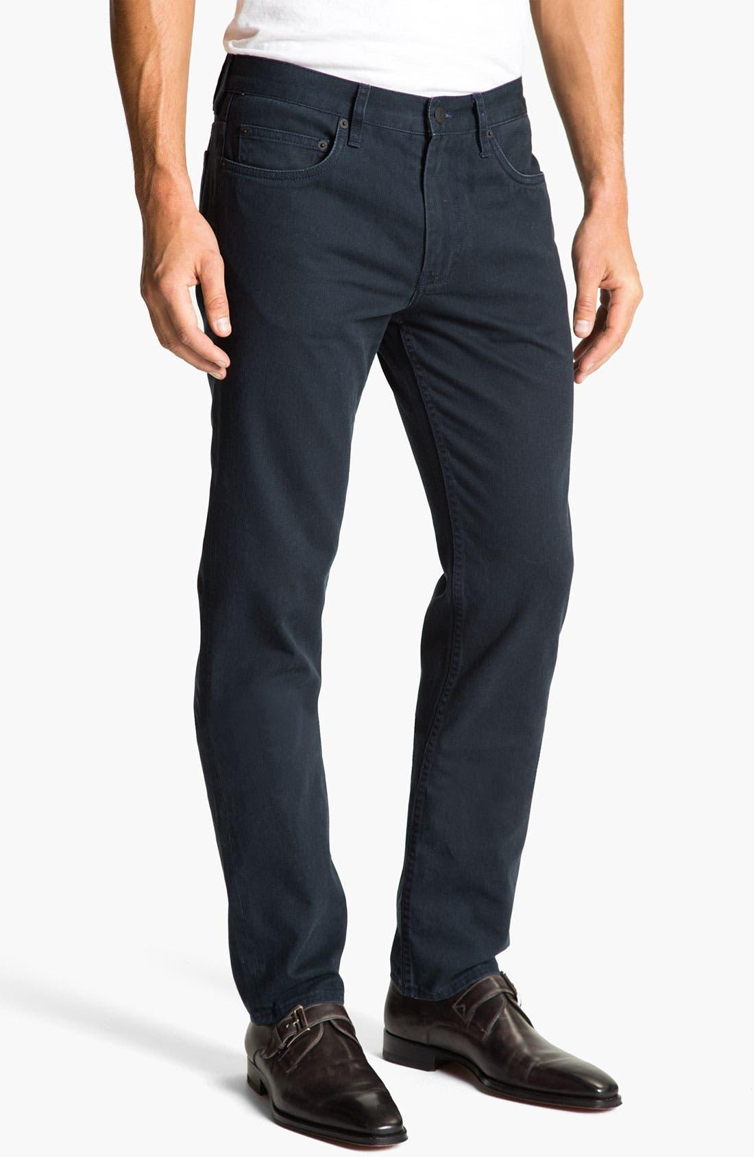 Alternate Image 2  - MARC BY MARC JACOBS Slim Straight Leg Jeans (Darkest Teal)