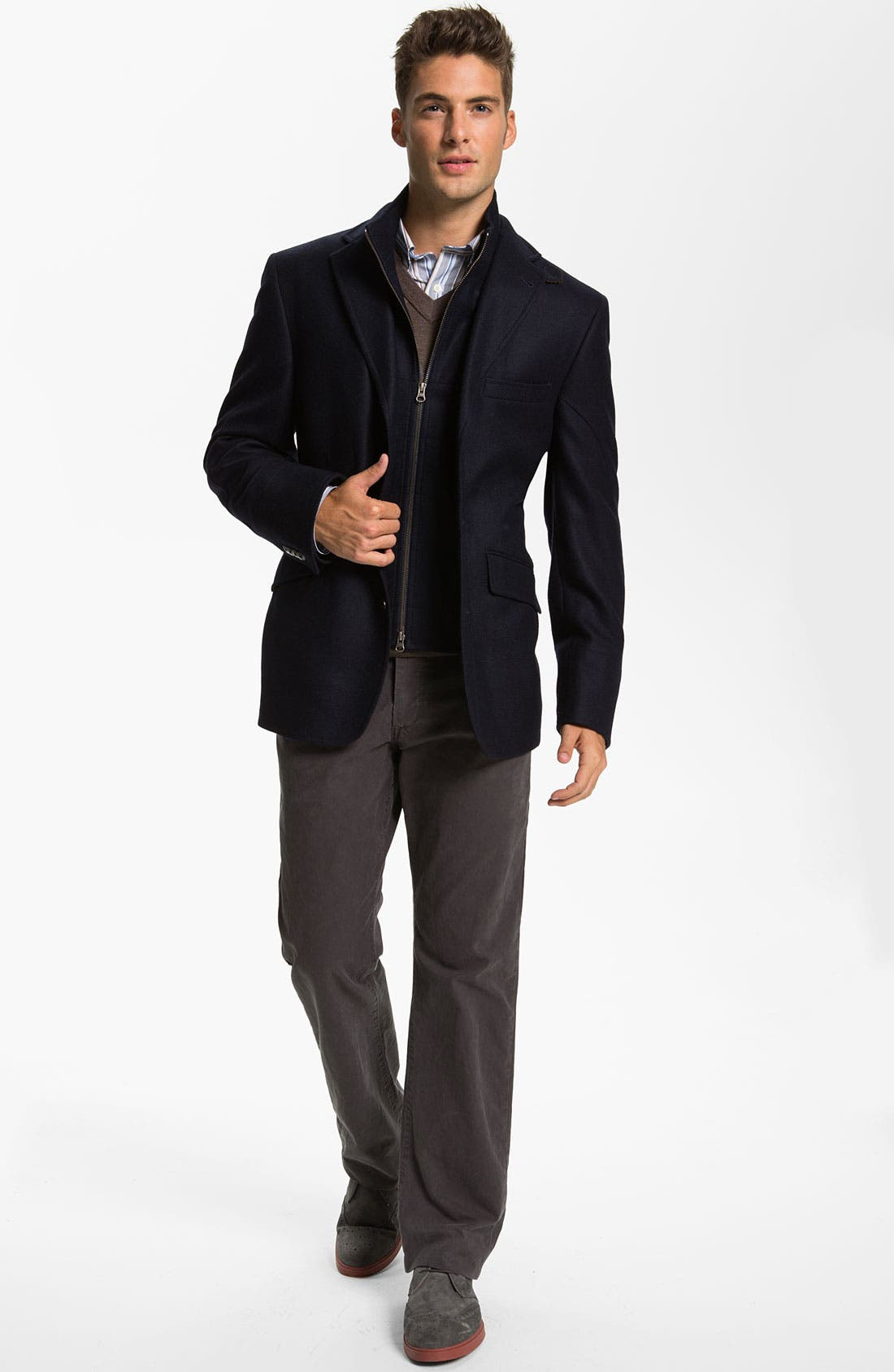 Alternate Image 4  - Kroon 'Ritchie' Wool & Cashmere Blazer Style Coat