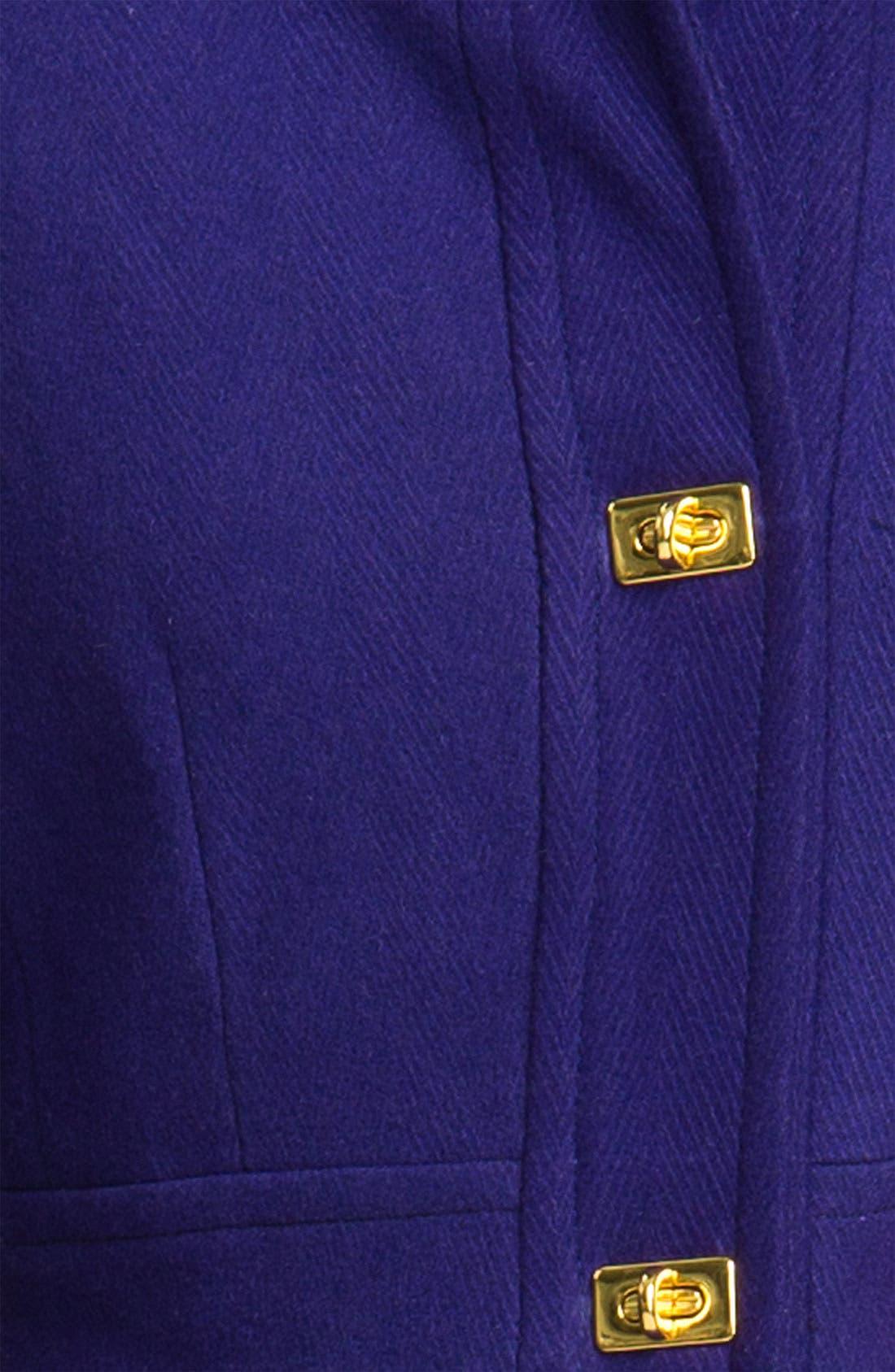 Alternate Image 3  - DKNY 'Kendra' Turnkey Wool Blend Coat (Nordstrom Exclusive)