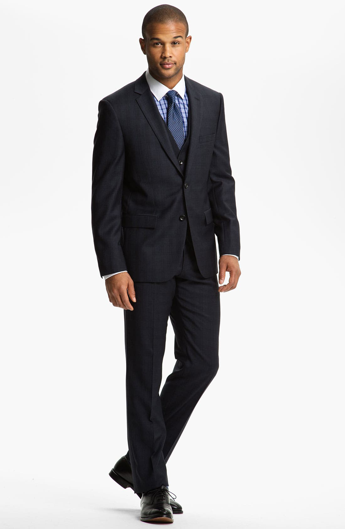 Alternate Image 2  - BOSS Selection Suit & BOSS Black Dress Shirt