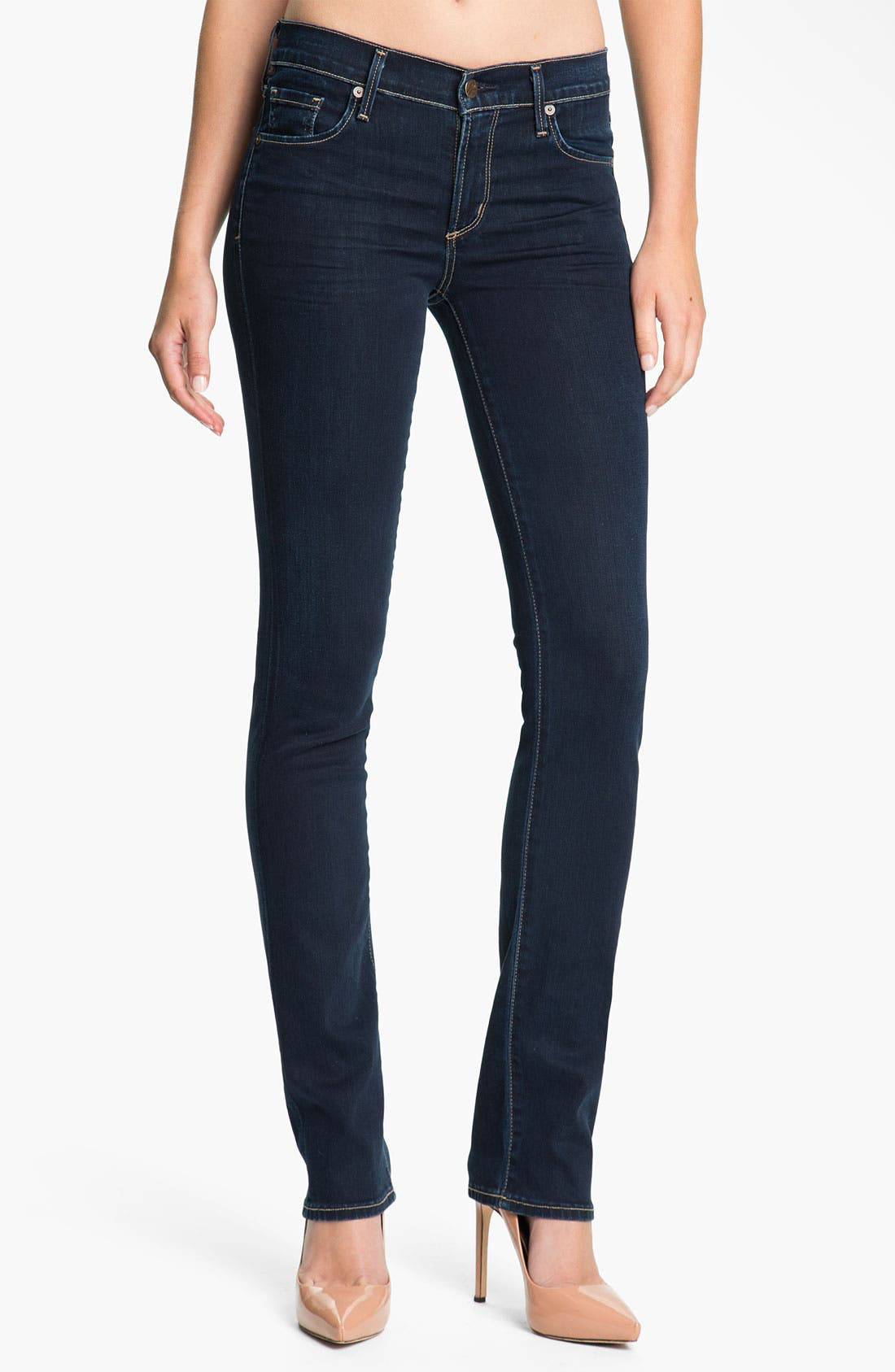 Alternate Image 1  - Citizens of Humanity 'Elson' Straight Leg Jeans (Starry)