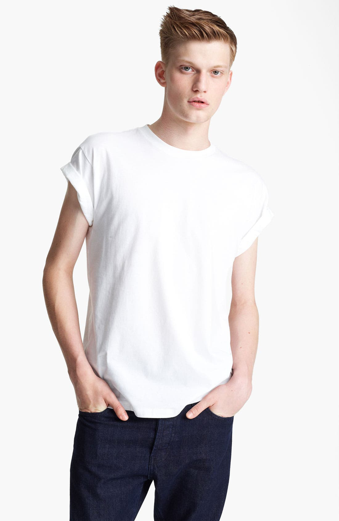 Alternate Image 1 Selected - Topman 'High Roller' T-Shirt