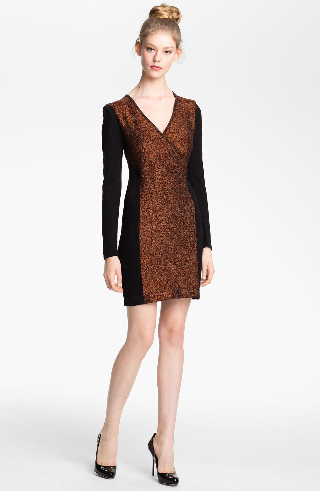 Main Image - Mcginn 'Stacie' Colorblock Knit Dress