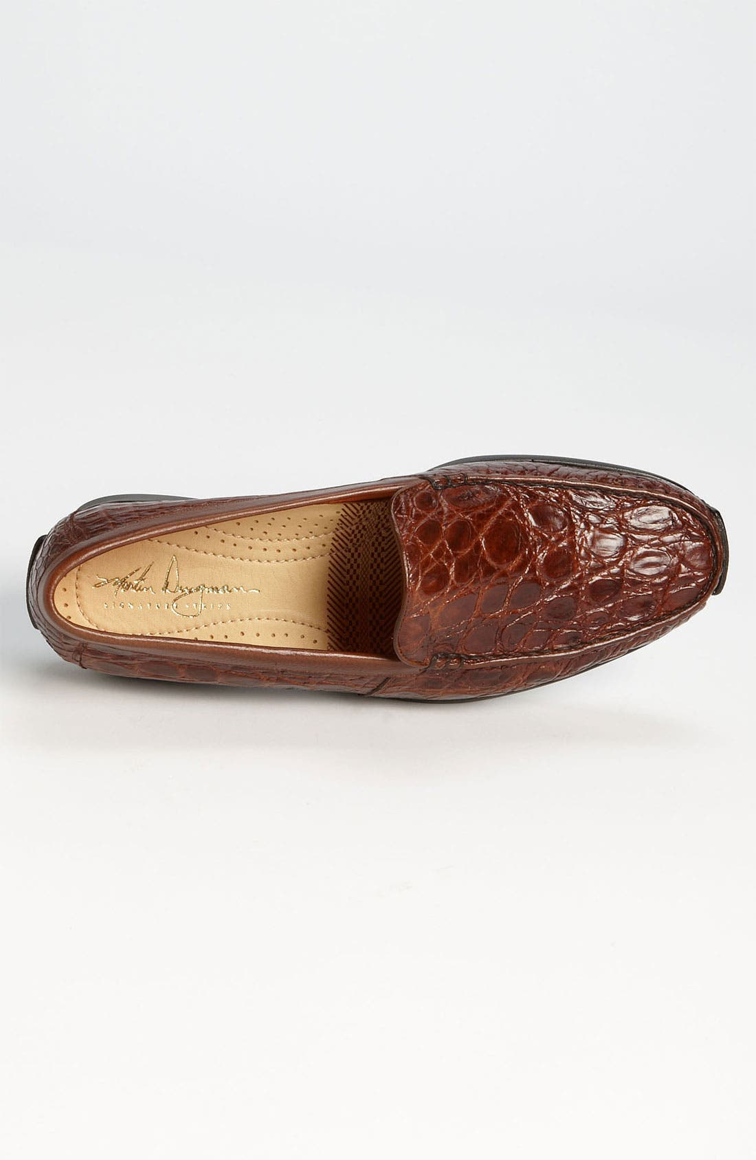 Alternate Image 3  - Martin Dingman 'Arlo' Crocodile Loafer (Men)