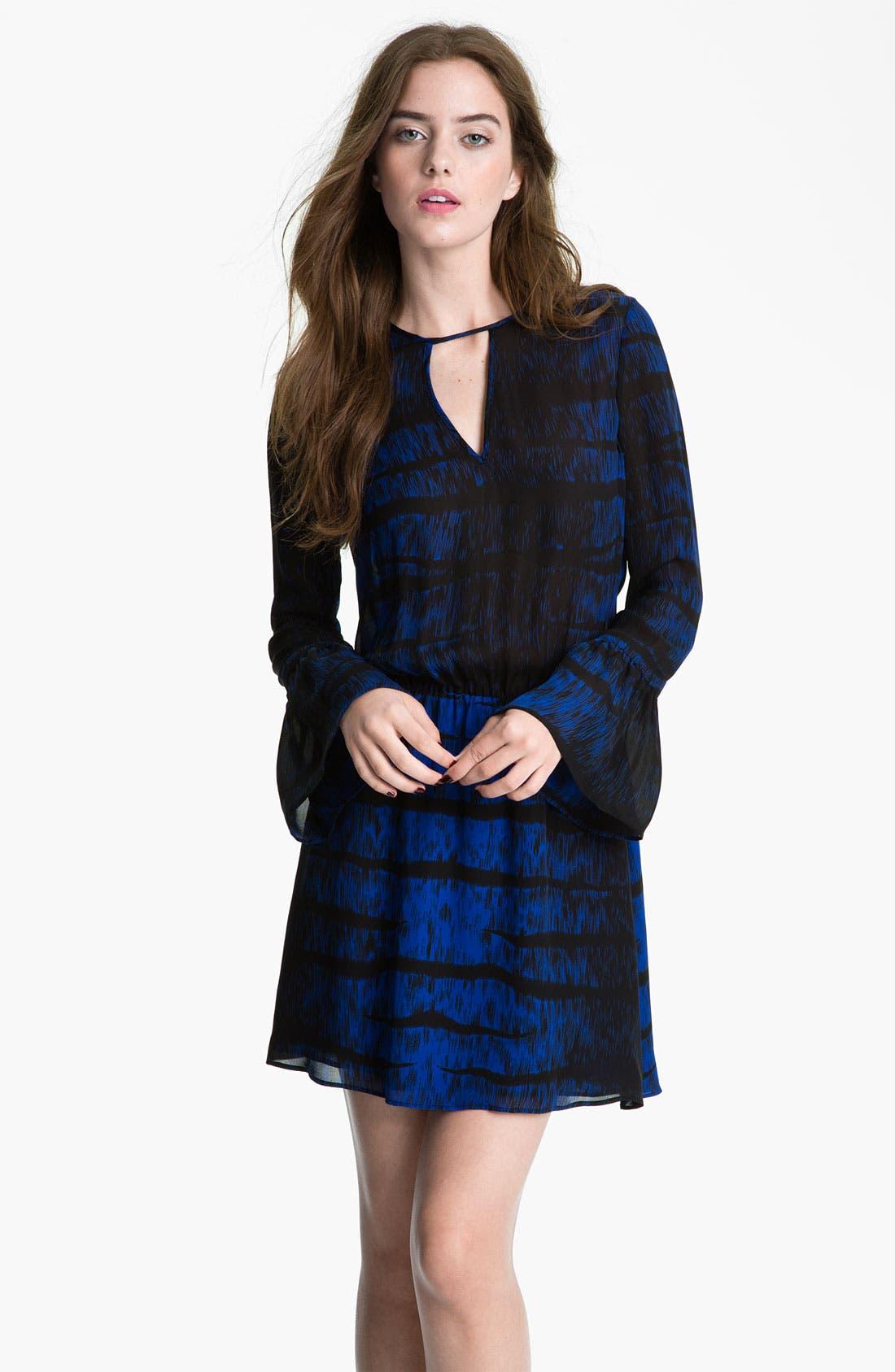 Main Image - Parker Bell Sleeve Keyhole Dress