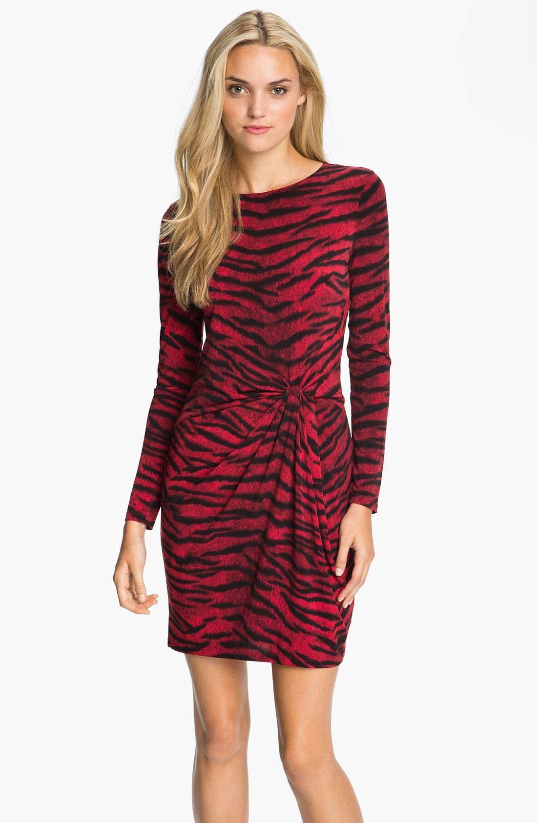 Alternate Image 1 Selected - MICHAEL Michael Kors Knot Front Dress