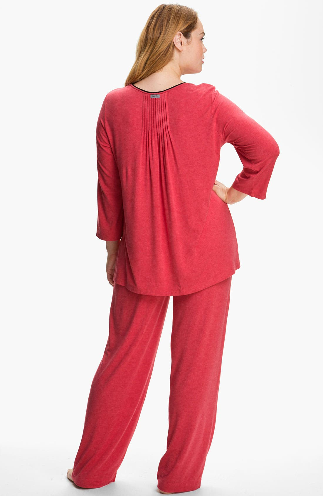 Alternate Image 5  - DKNY '7 Easy Pieces' Pants (Plus)