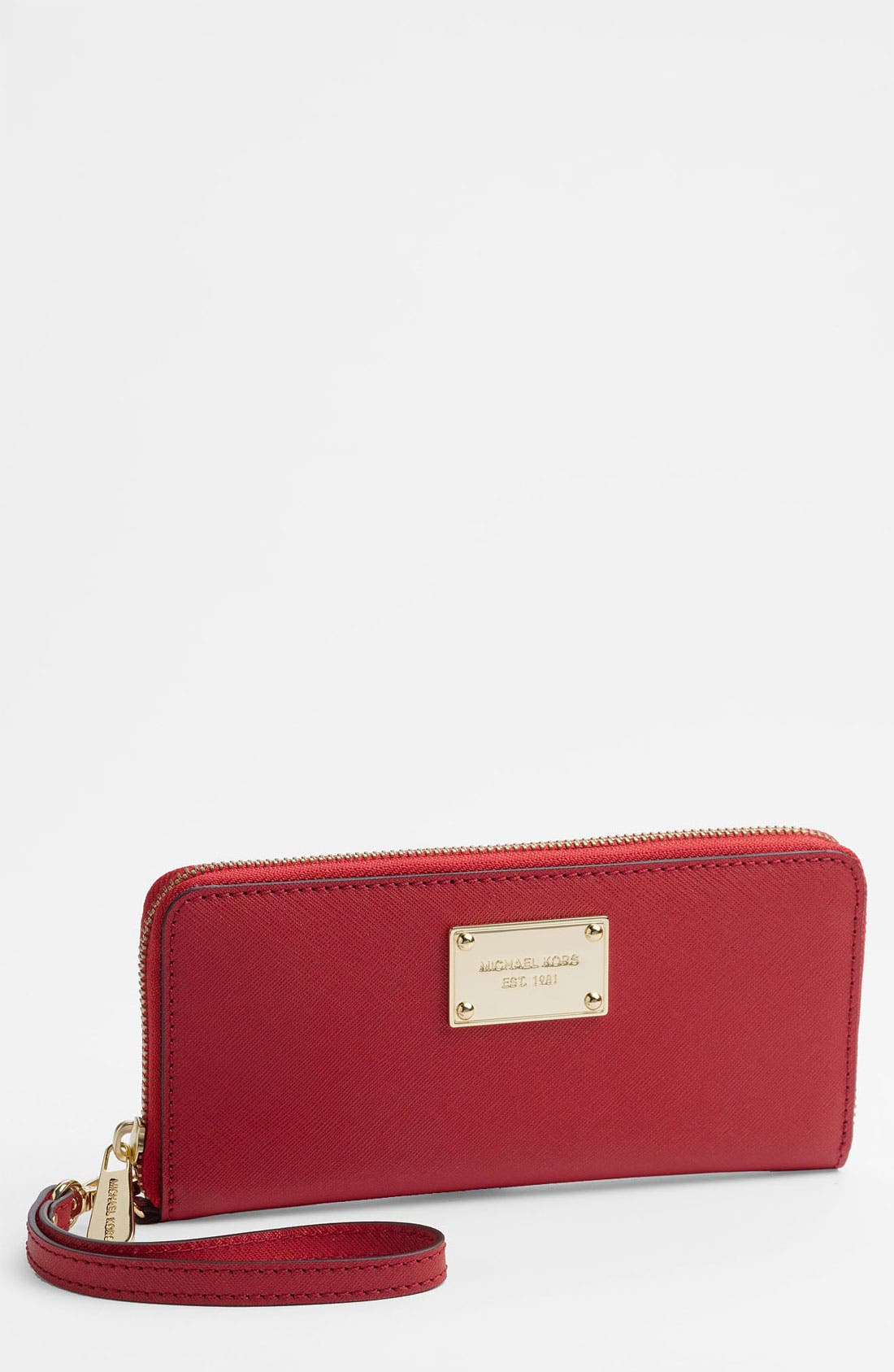Alternate Image 1 Selected - MICHAEL Michael Kors 'Jet Set' Continental Phone Wallet