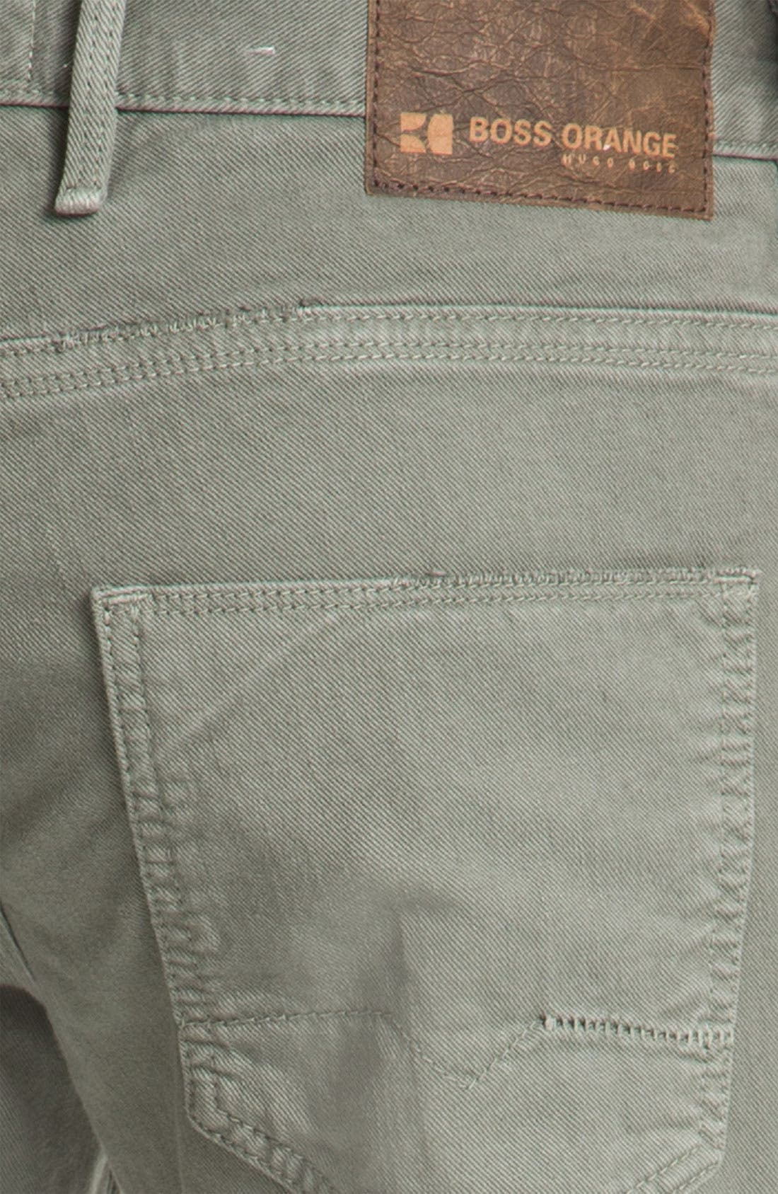 Alternate Image 3  - BOSS Orange '24' Regular Straight Leg Pants