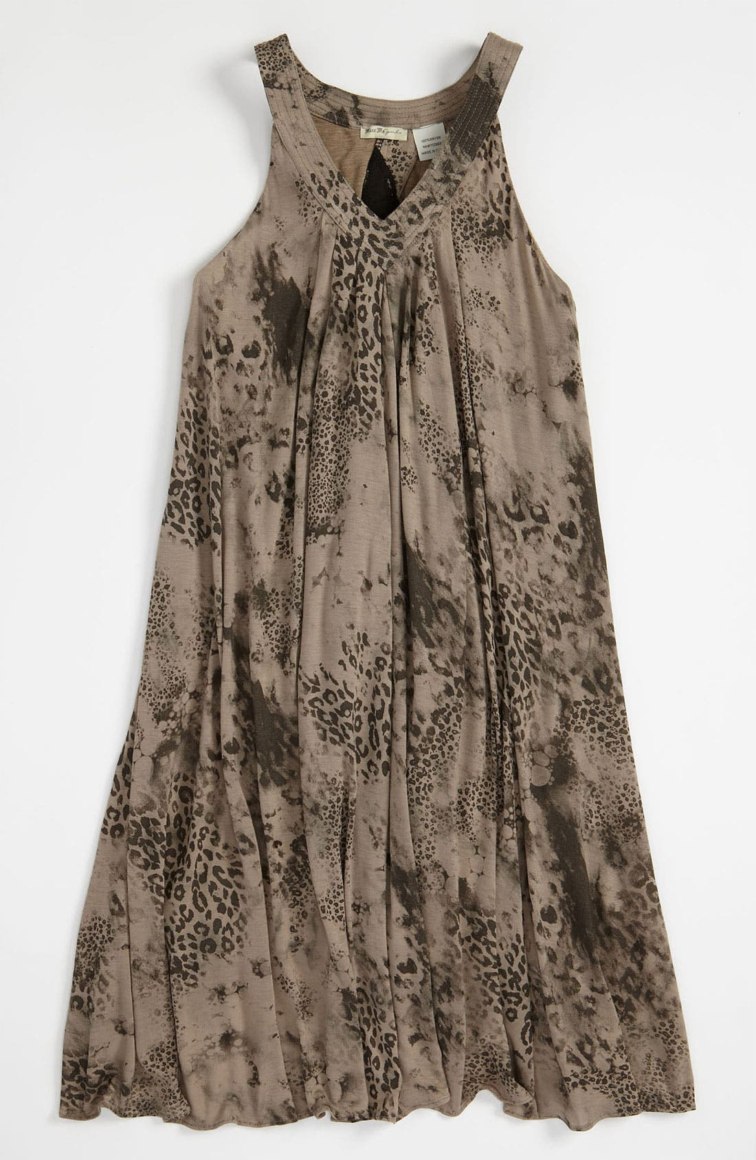 Main Image - Miss Me Trapeze Dress (Big Girls)