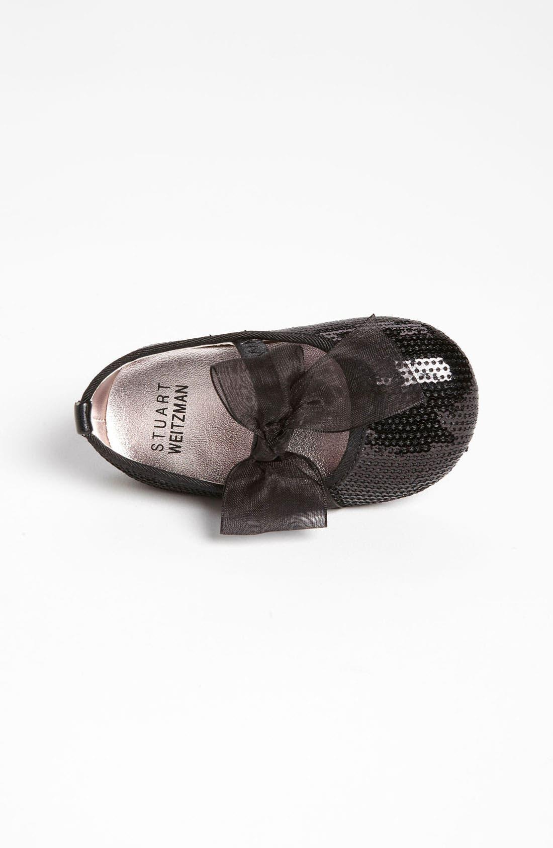 Alternate Image 3  - Stuart Weitzman 'Baby Bling' Crib Shoe (Baby & Walker)