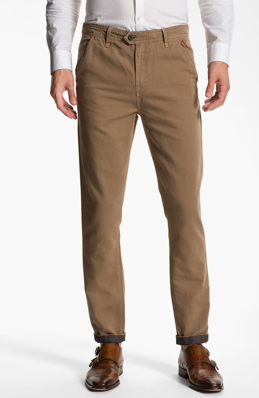 Main Image - Ted Baker London 'Lucchin' Slim Fit Chinos