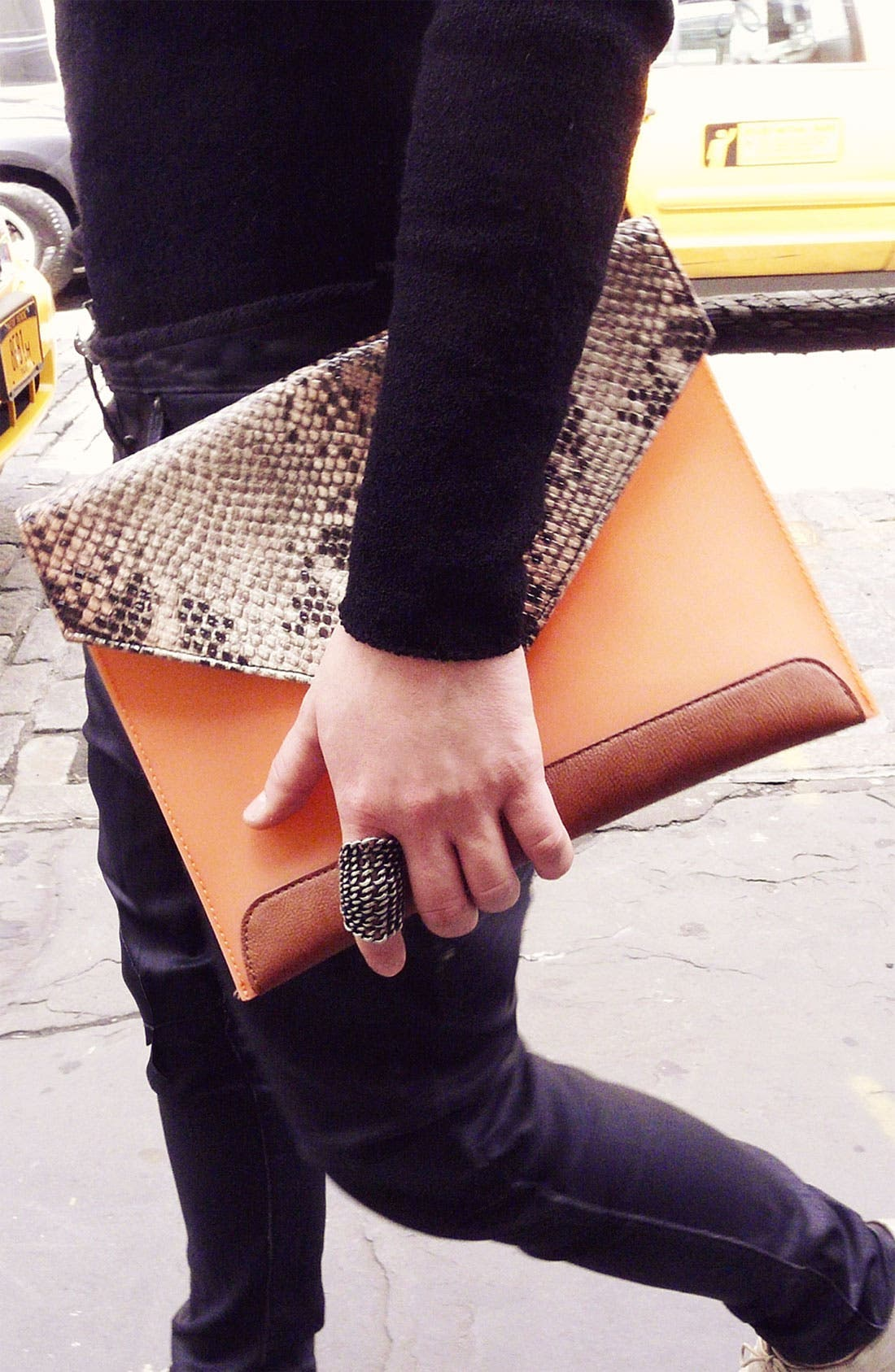 Alternate Image 6  - Danielle Nicole 'Sienna' Envelope Clutch