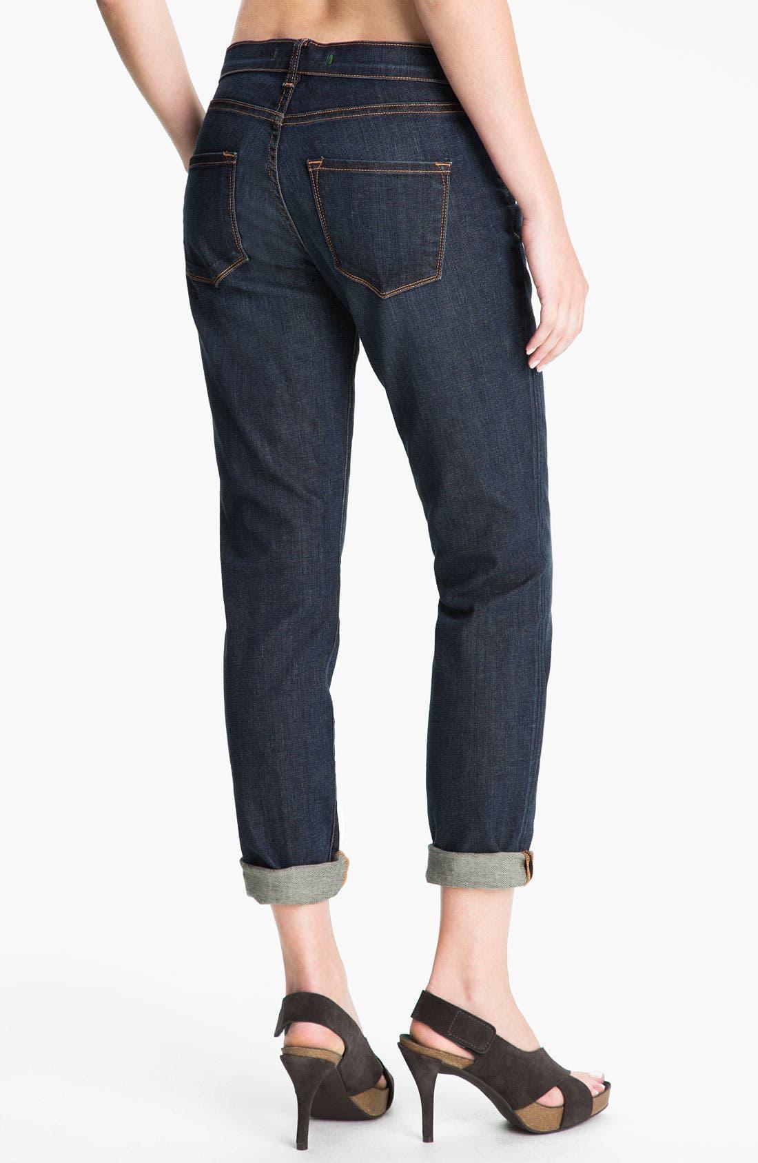 Alternate Image 2  - J Brand 'Midori' Stretch Jeans (Dark Vintage)