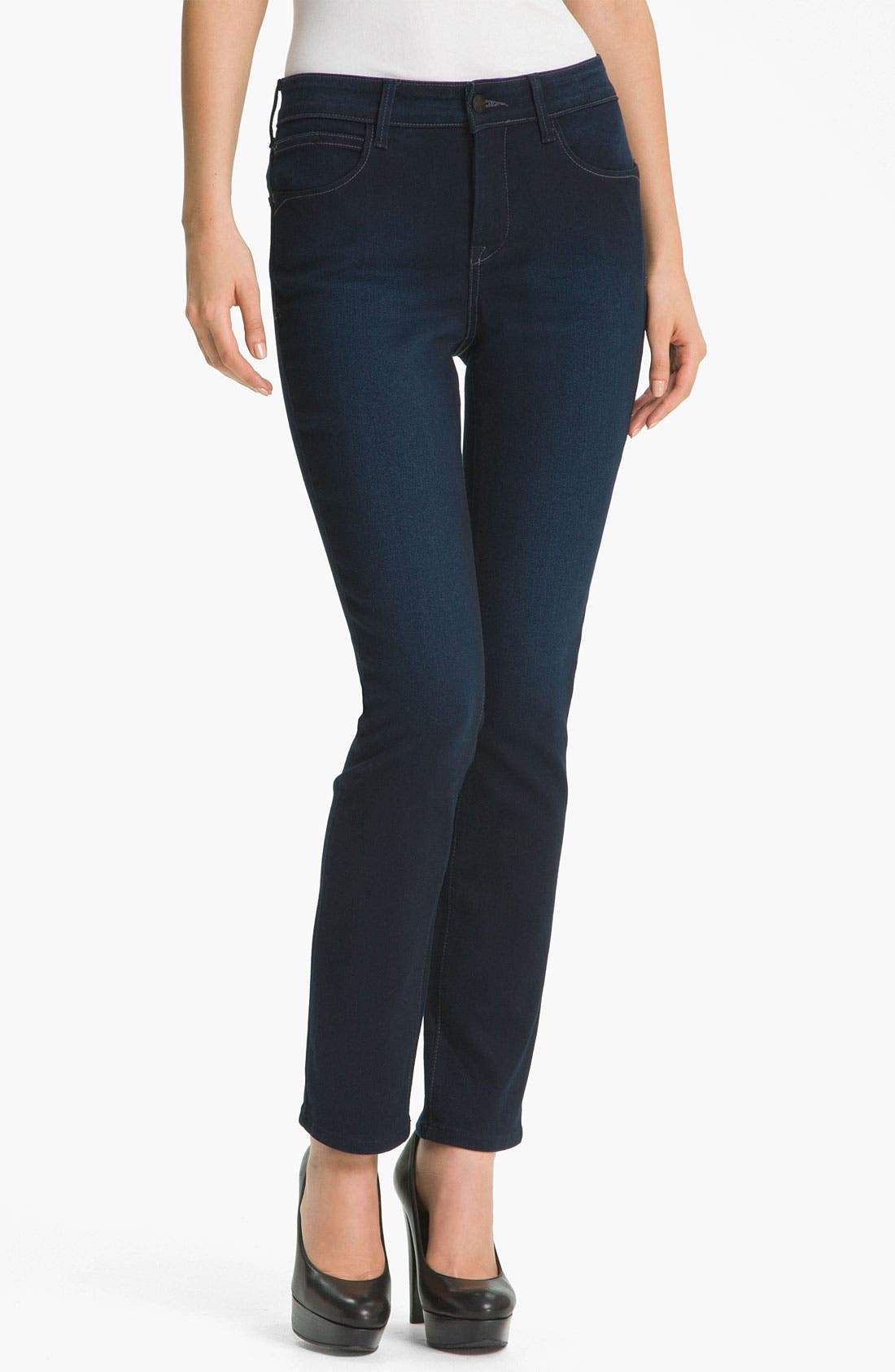 Alternate Image 1 Selected - NYDJ 'Jade' Denim Leggings (Petite)