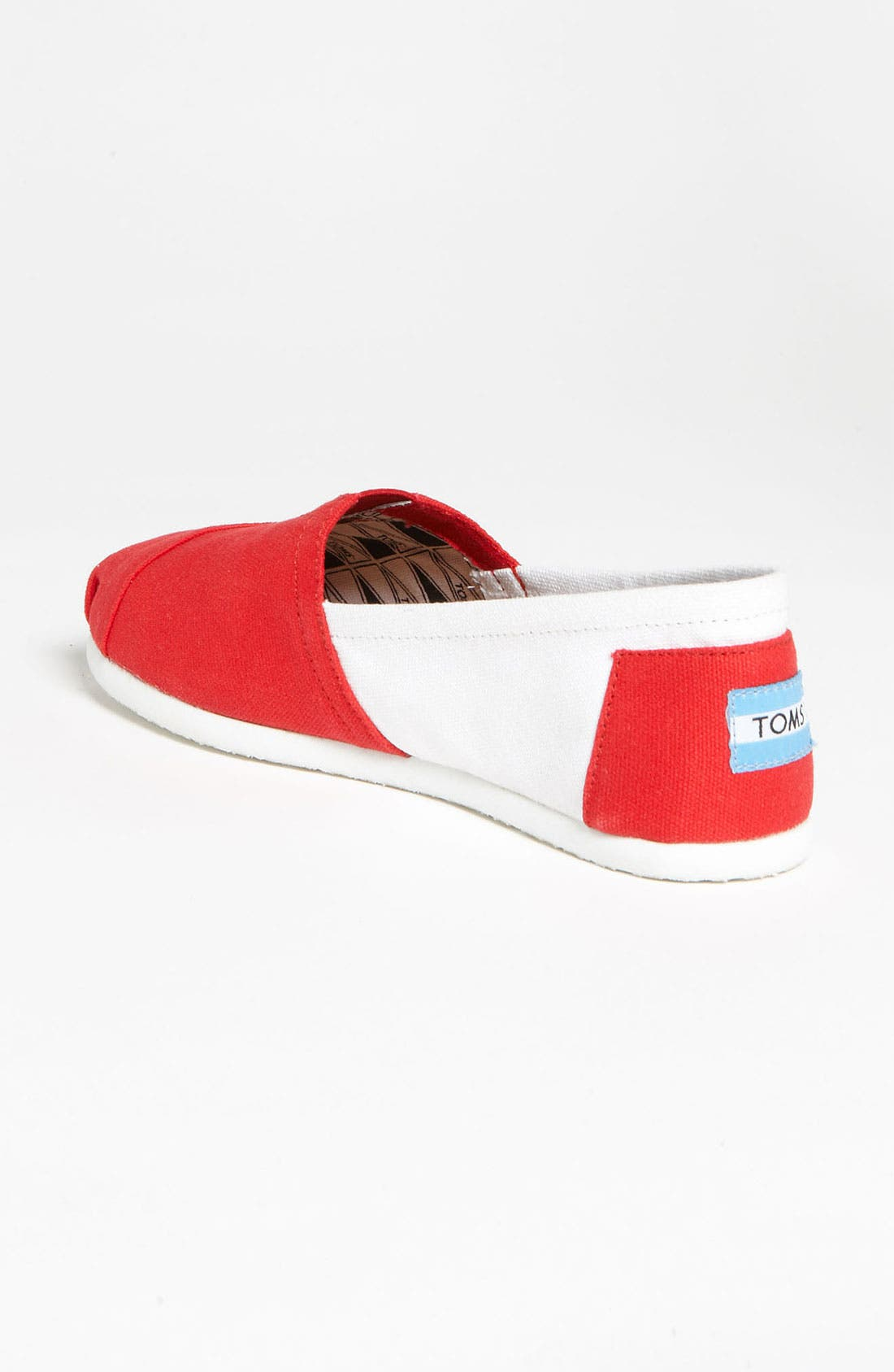 Alternate Image 2  - TOMS 'Campus Classics - University of Wisconsin' Slip-On (Women)