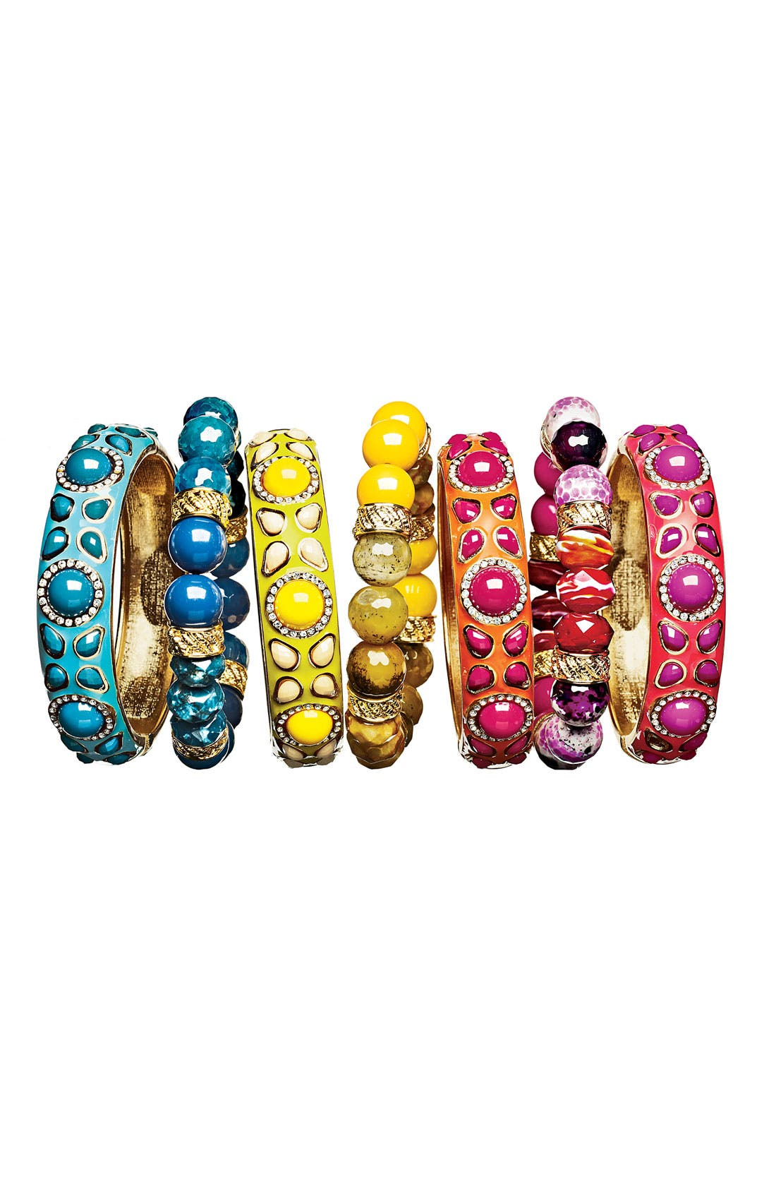 Alternate Image 2  - Sequin Beaded Stretch Bracelet (Nordstrom Exclusive)
