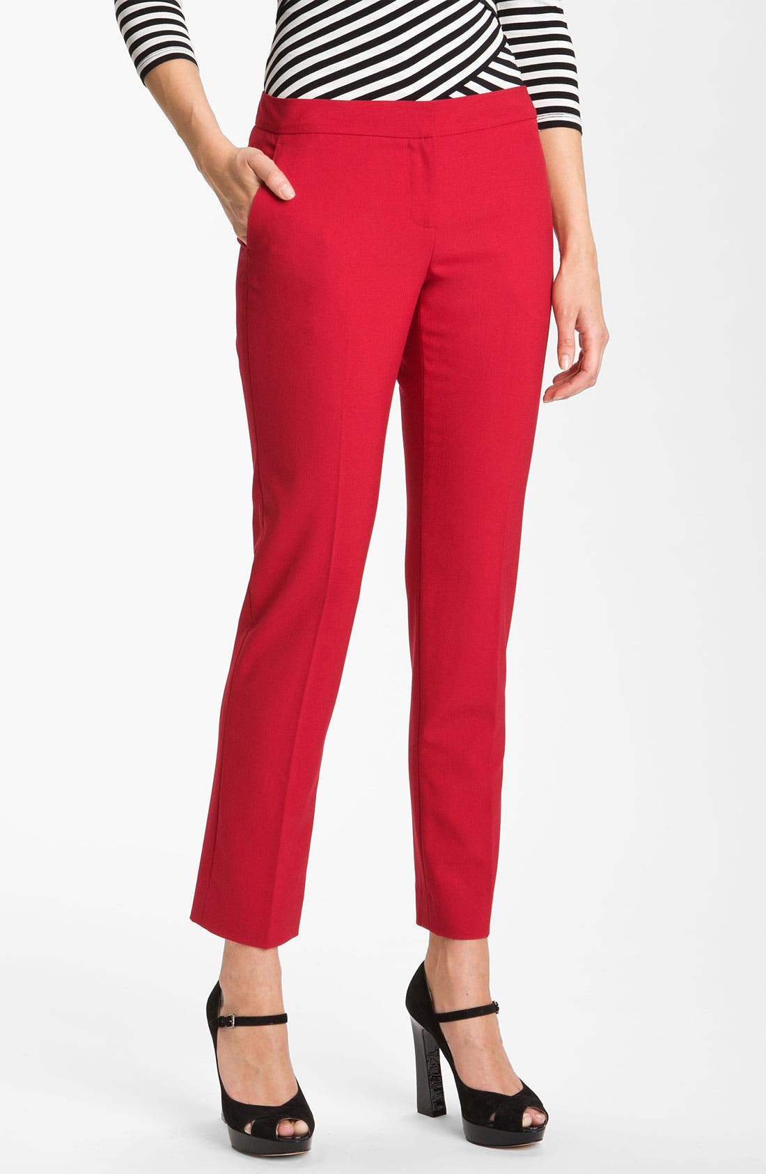 Alternate Image 1 Selected - Vince Camuto Skinny Ankle Pants (Petite)