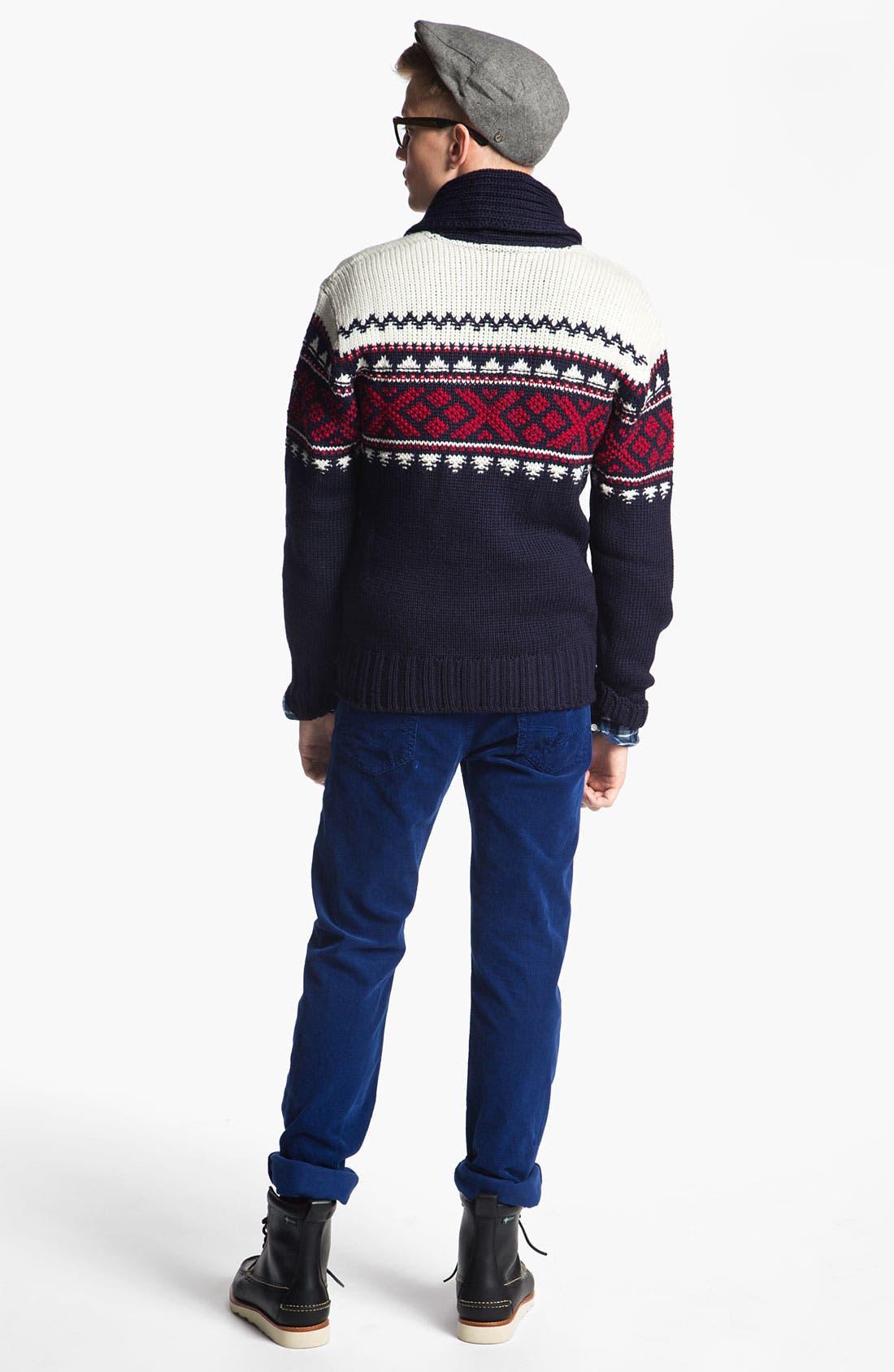 Alternate Image 5  - Dale of Norway 'Valle' Shawl Collar Wool Cardigan
