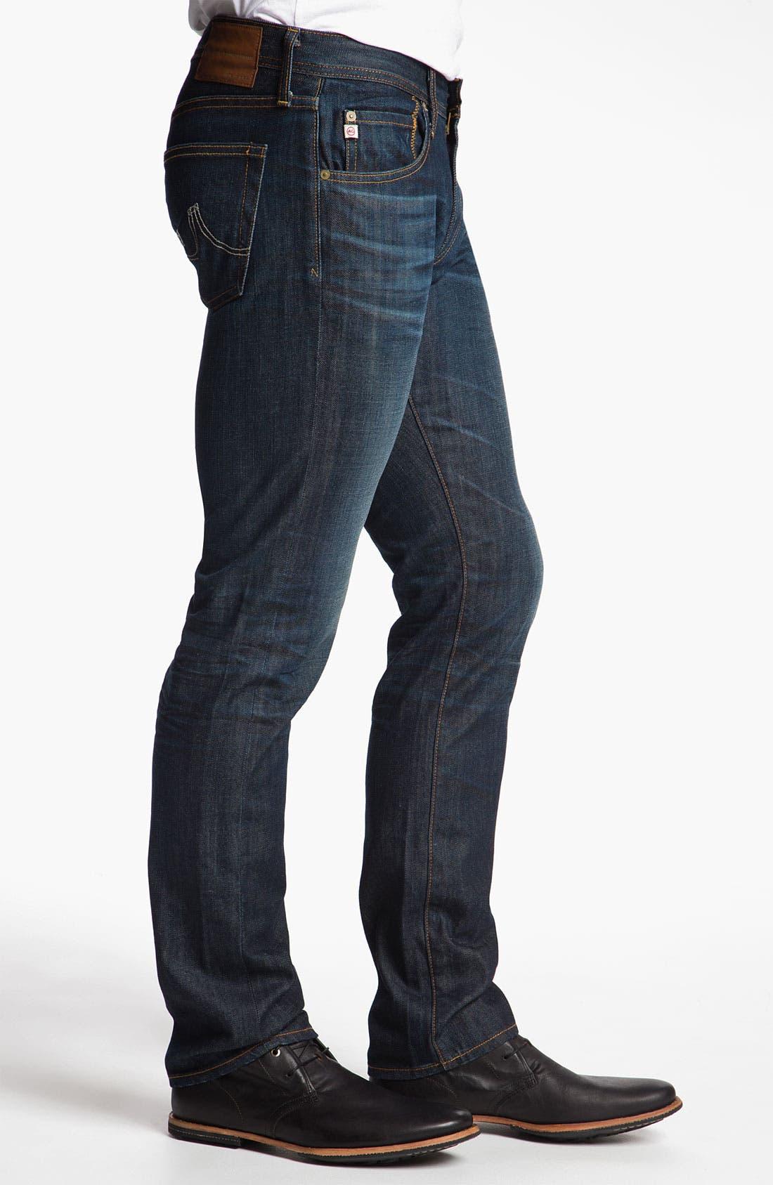 Alternate Image 3  - AG Jeans 'Matchbox' Slim Straight Leg Jeans (5 Year Resin)