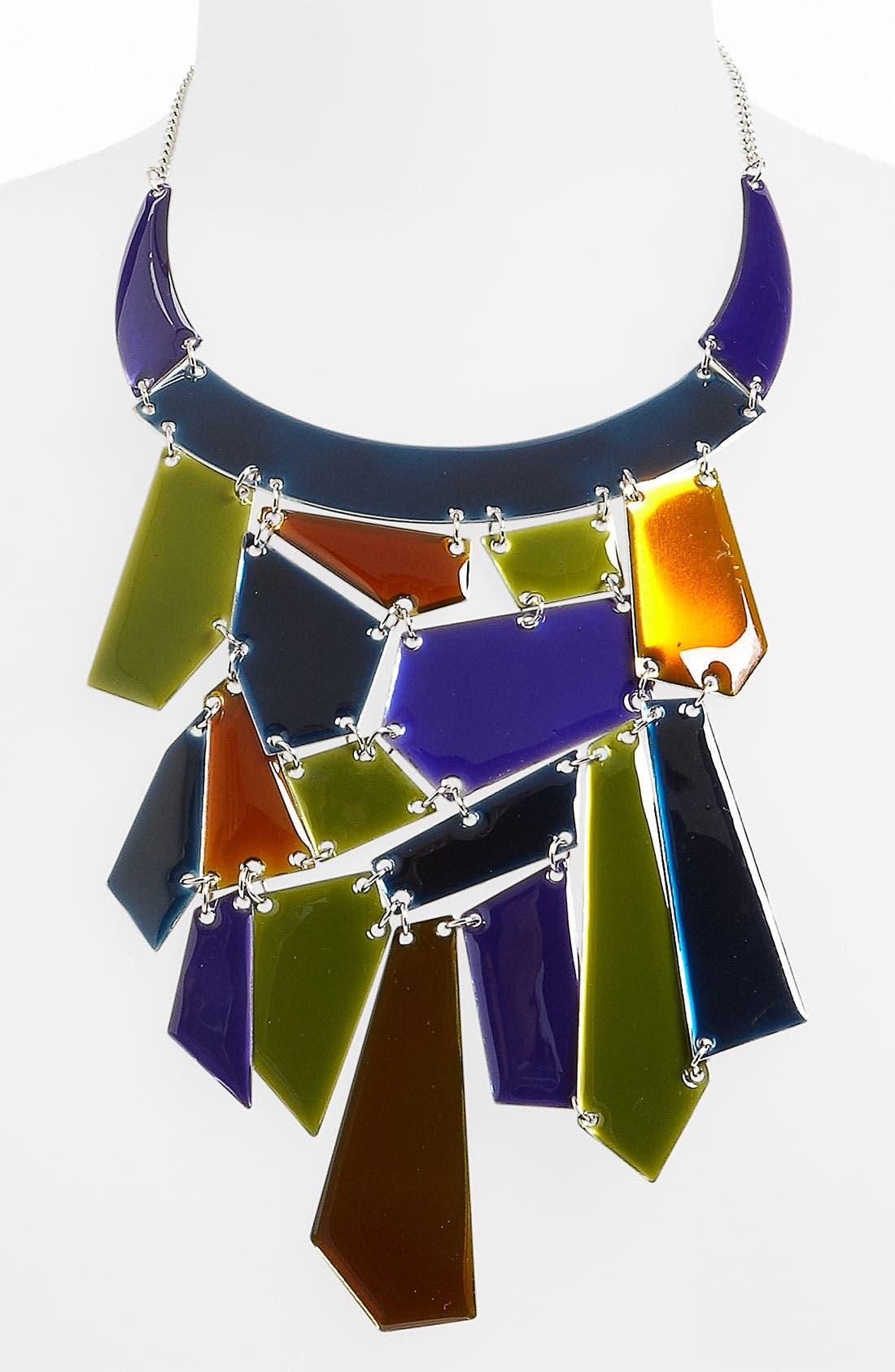 Alternate Image 1 Selected - Natasha Couture 'Mosaic' Statement Necklace