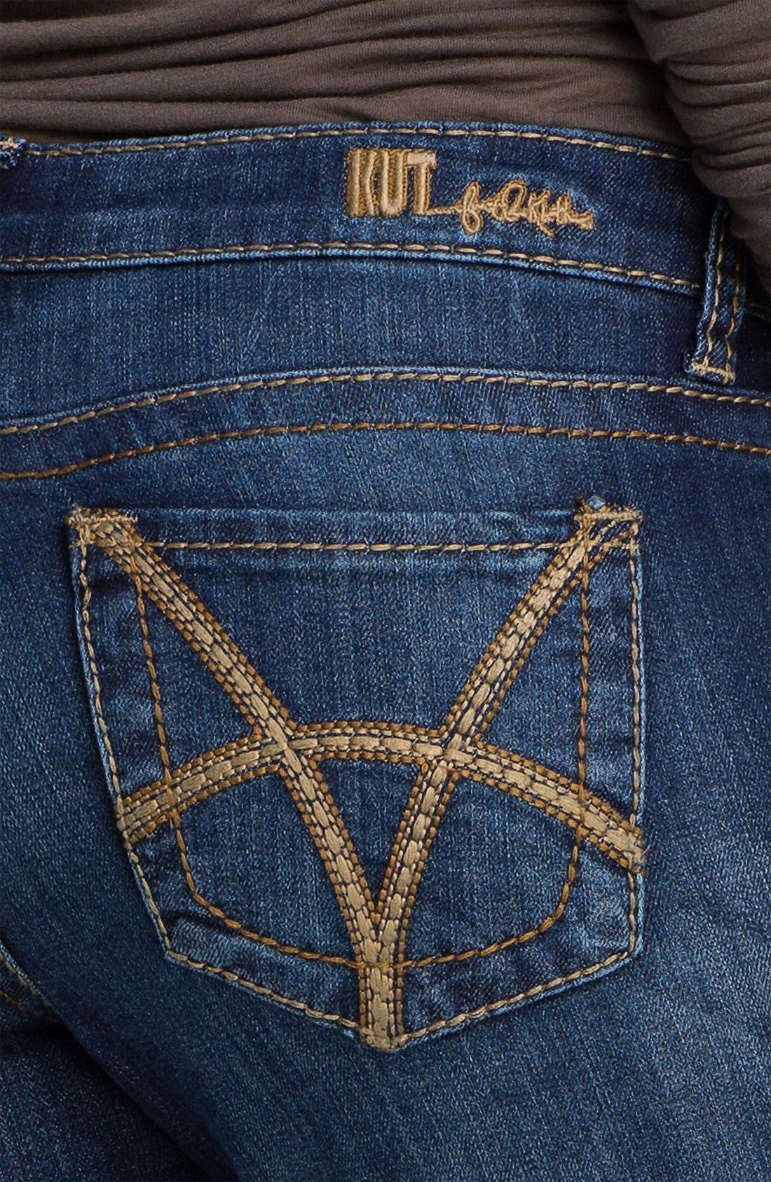 Alternate Image 3  - KUT from the Kloth 'Stevie' Straight Leg Jeans (Gratitude) (Online Only)