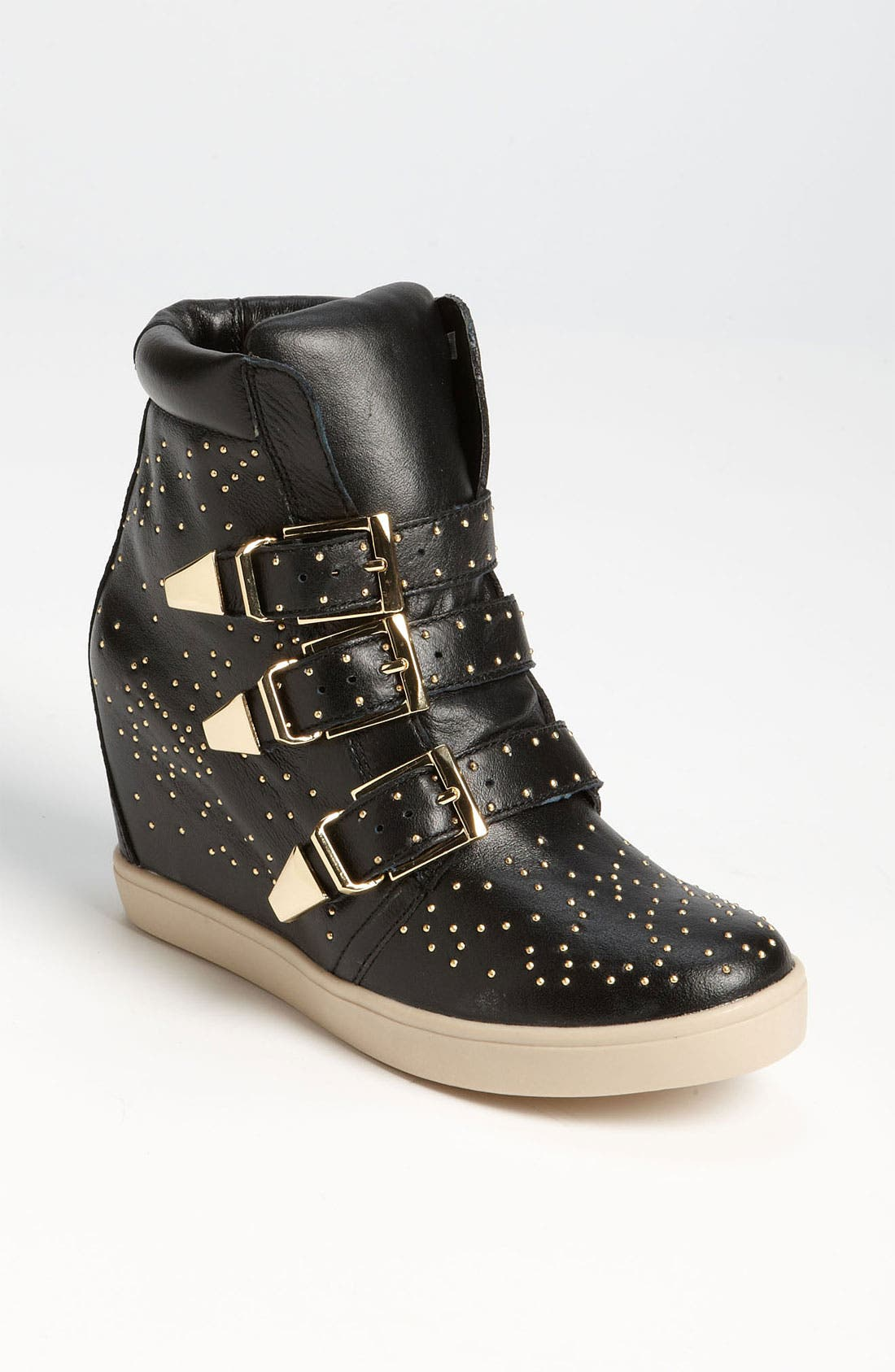 Alternate Image 1 Selected - Steven by Steve Madden 'Jeckle' Wedge Sneaker
